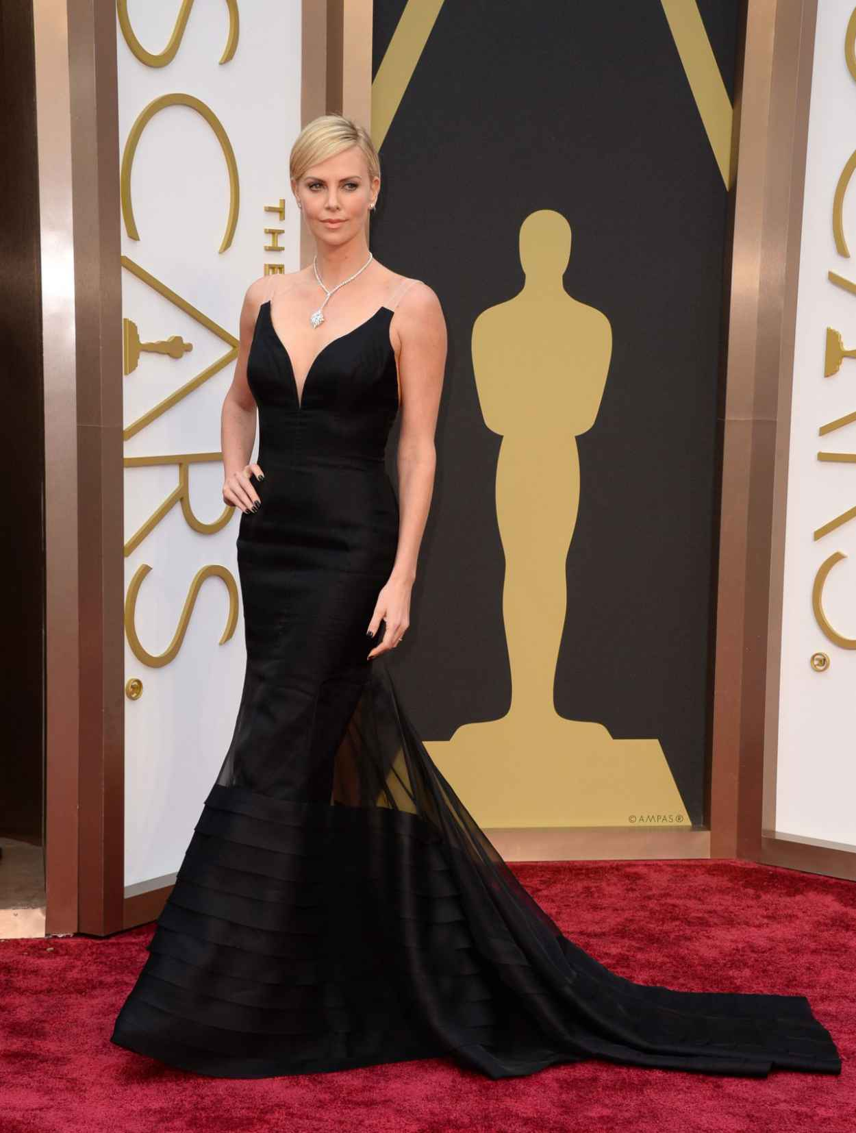 Charlize Theron - 2015 Oscars Red Carpet-1