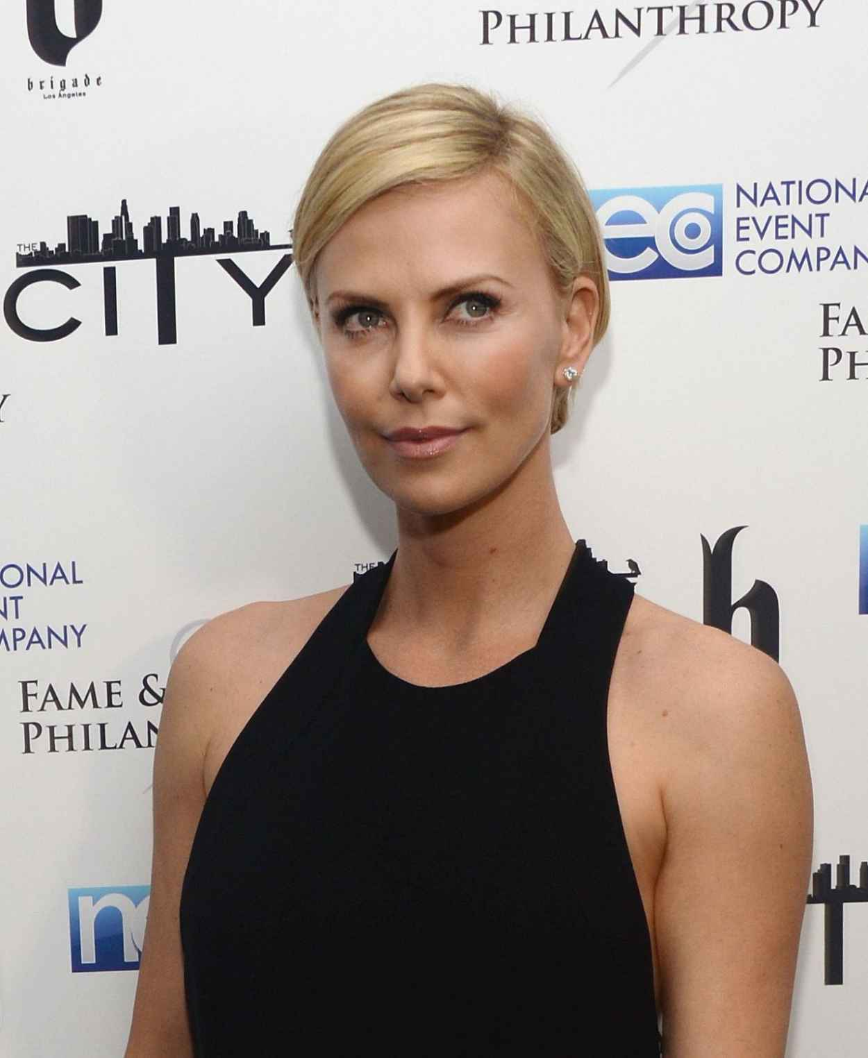 Charlize Theron - Fame and Philanthropy Post-Oscar Party-1