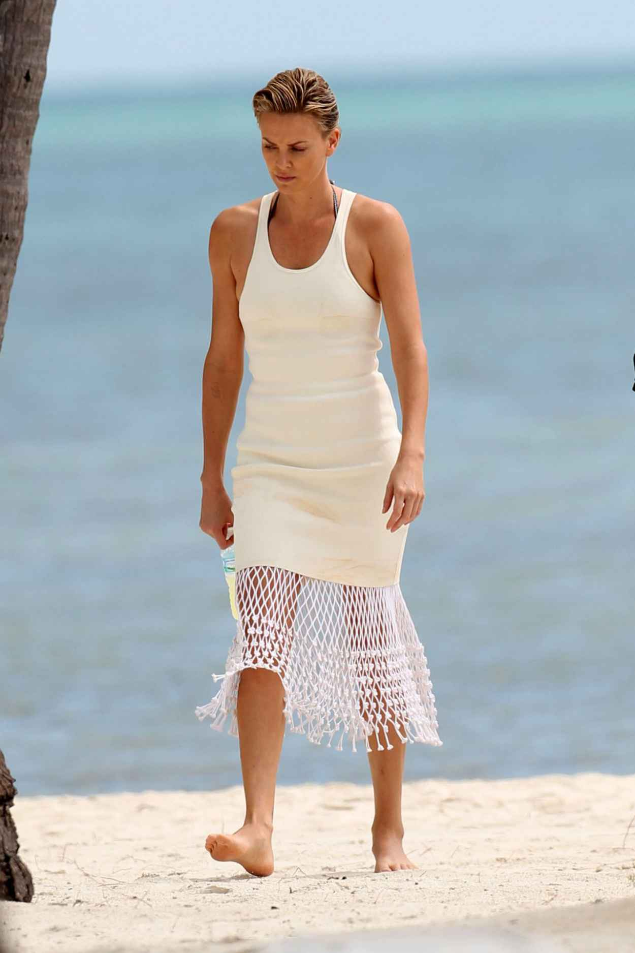 Charlize Theron - Miami Beach Candids, March 2015-1