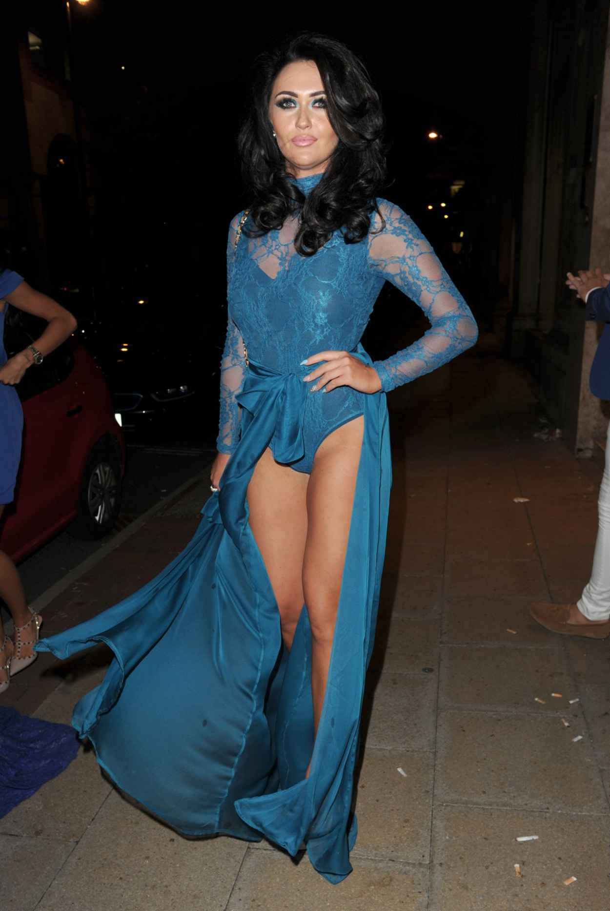 Charlotte Dawson – Manchester Blue Hues Summer Evening of Style ...