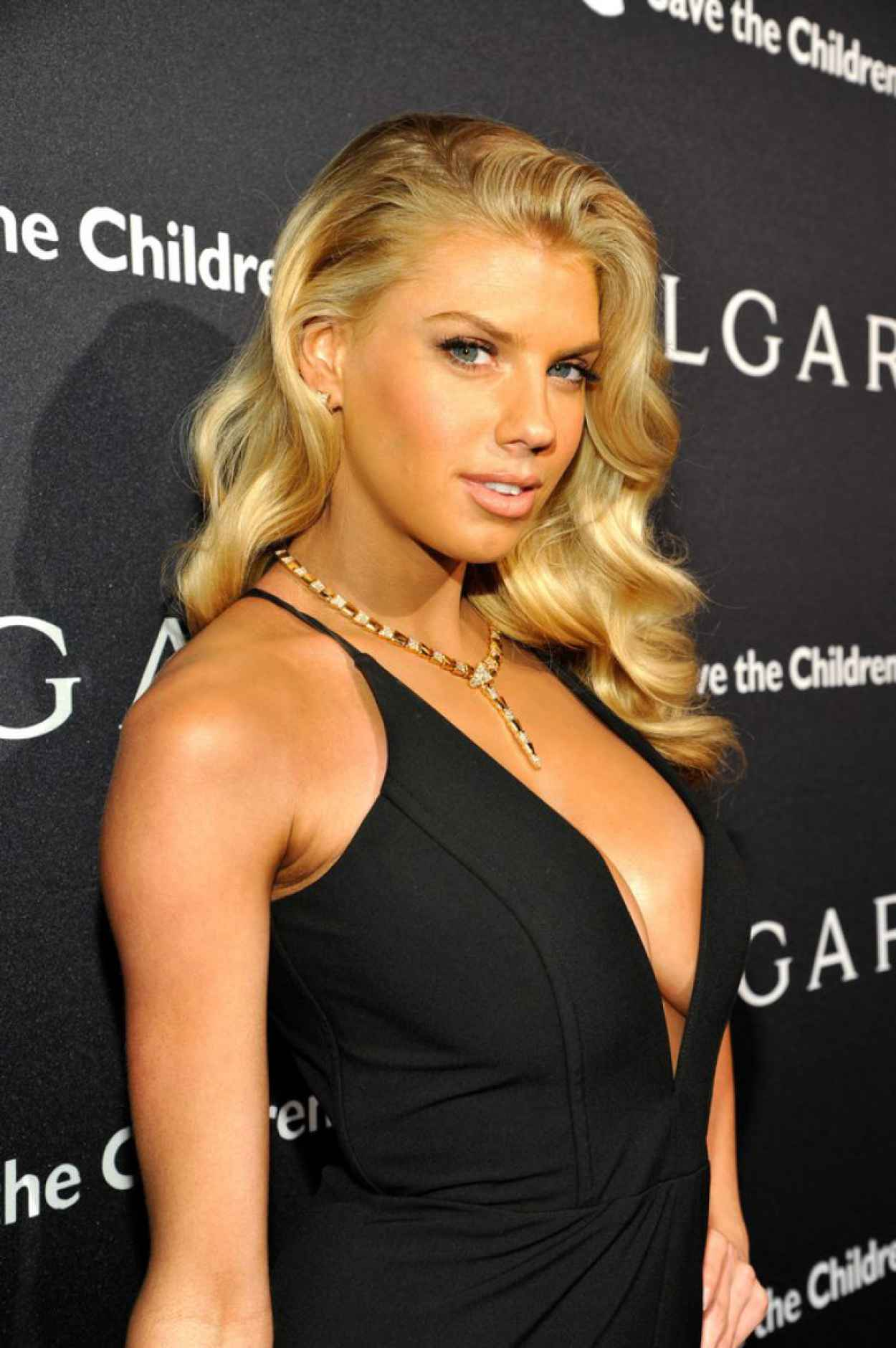 Charlotte McKinney - BVLGARI And Save The Children Pre-Oscar 2015 Event in Beverly Hills-1