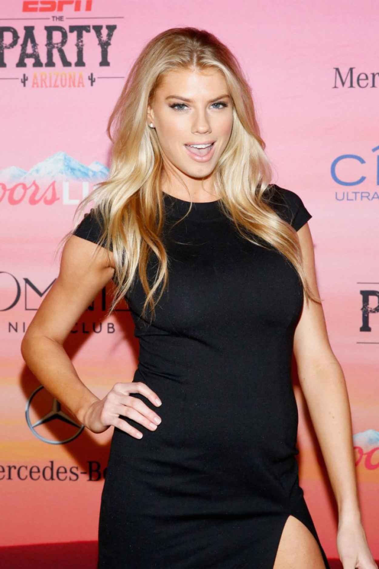 Charlotte McKinney - ESPN the Party in Scottsdale - January 2015-1
