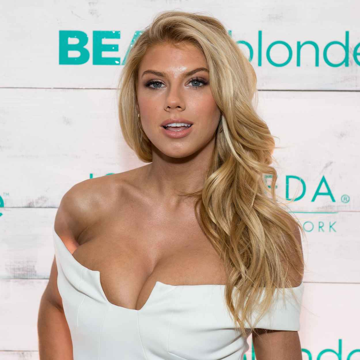 Charlotte McKinney - John Frieda Hair Care Beach Blonde Collection Party in New York City, Feb. 2015-1