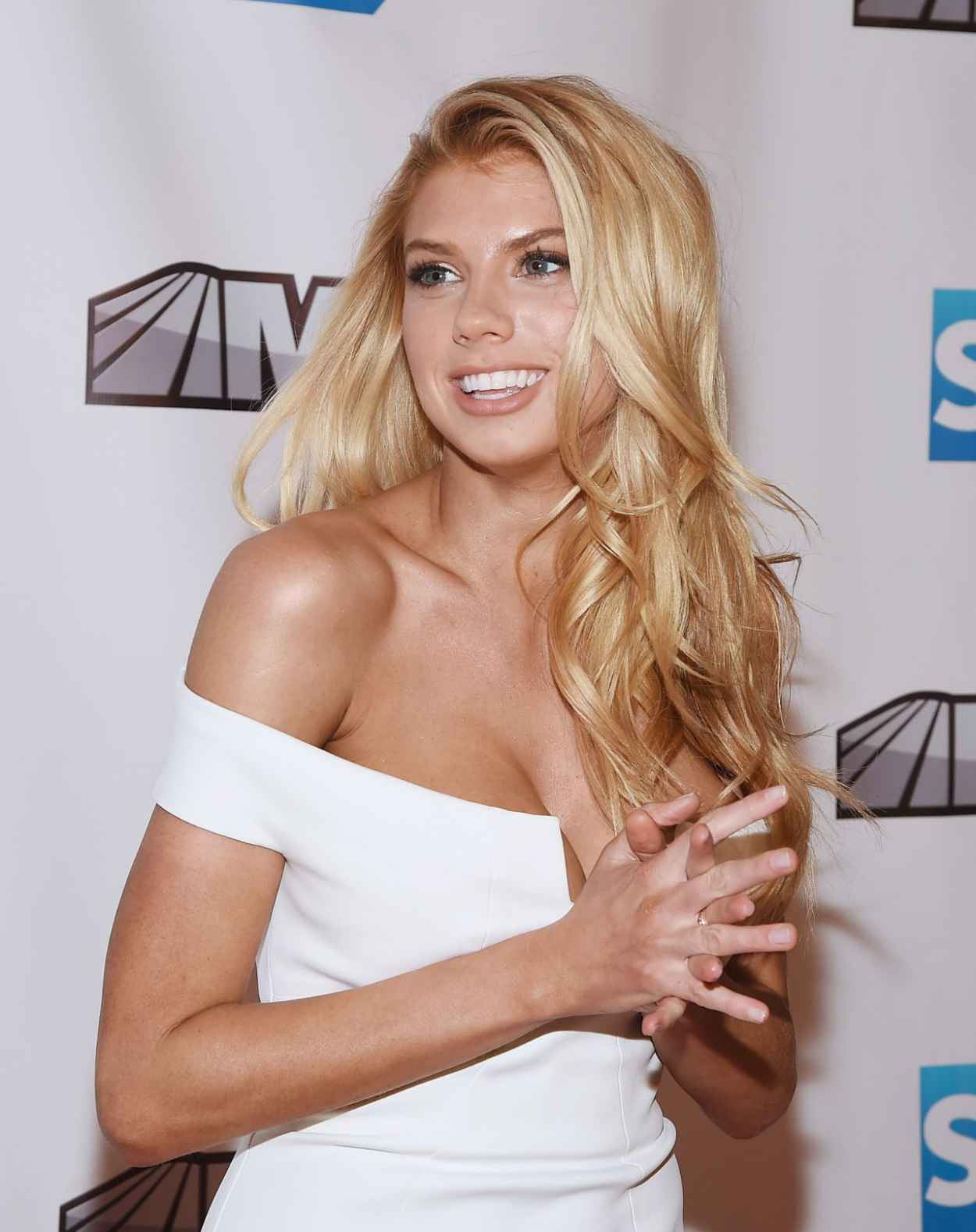 Charlotte McKinney - MSG Networks Original Programming Party in New York - February 2015-1