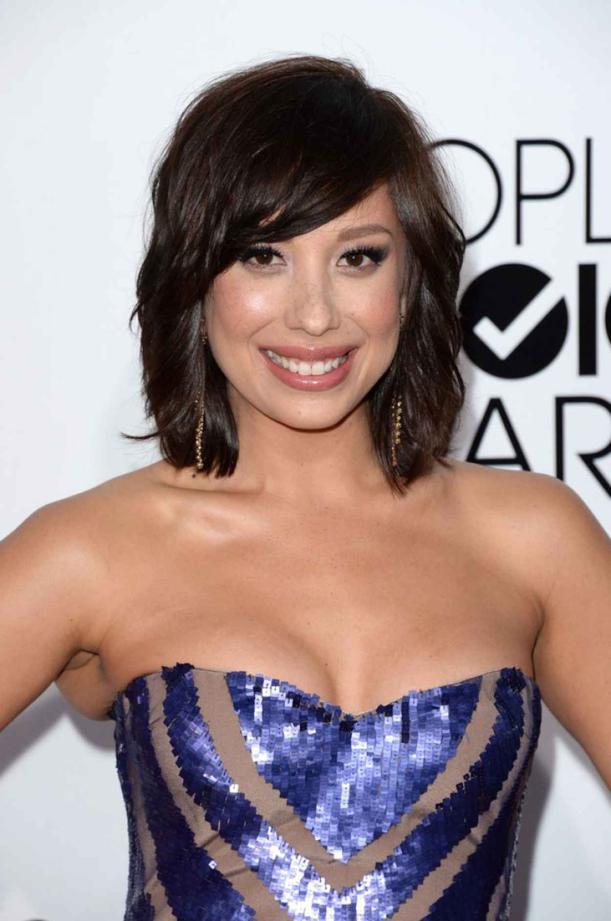 Cheryl Burke - 2015 Peoples Choice Awards-1