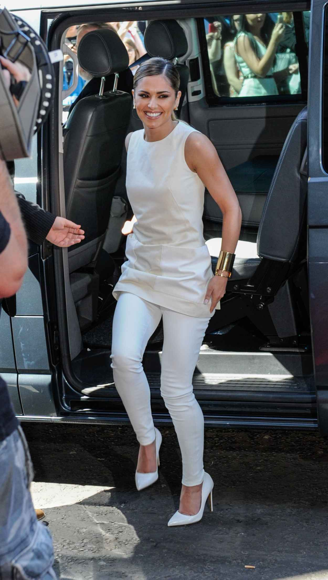 Cheryl Cole at X Factor auditions in Edinburgh - July 2015-2