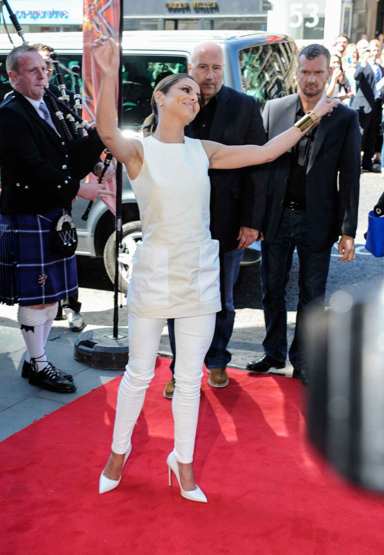 Cheryl Cole at X Factor auditions in Edinburgh - July 2015-4