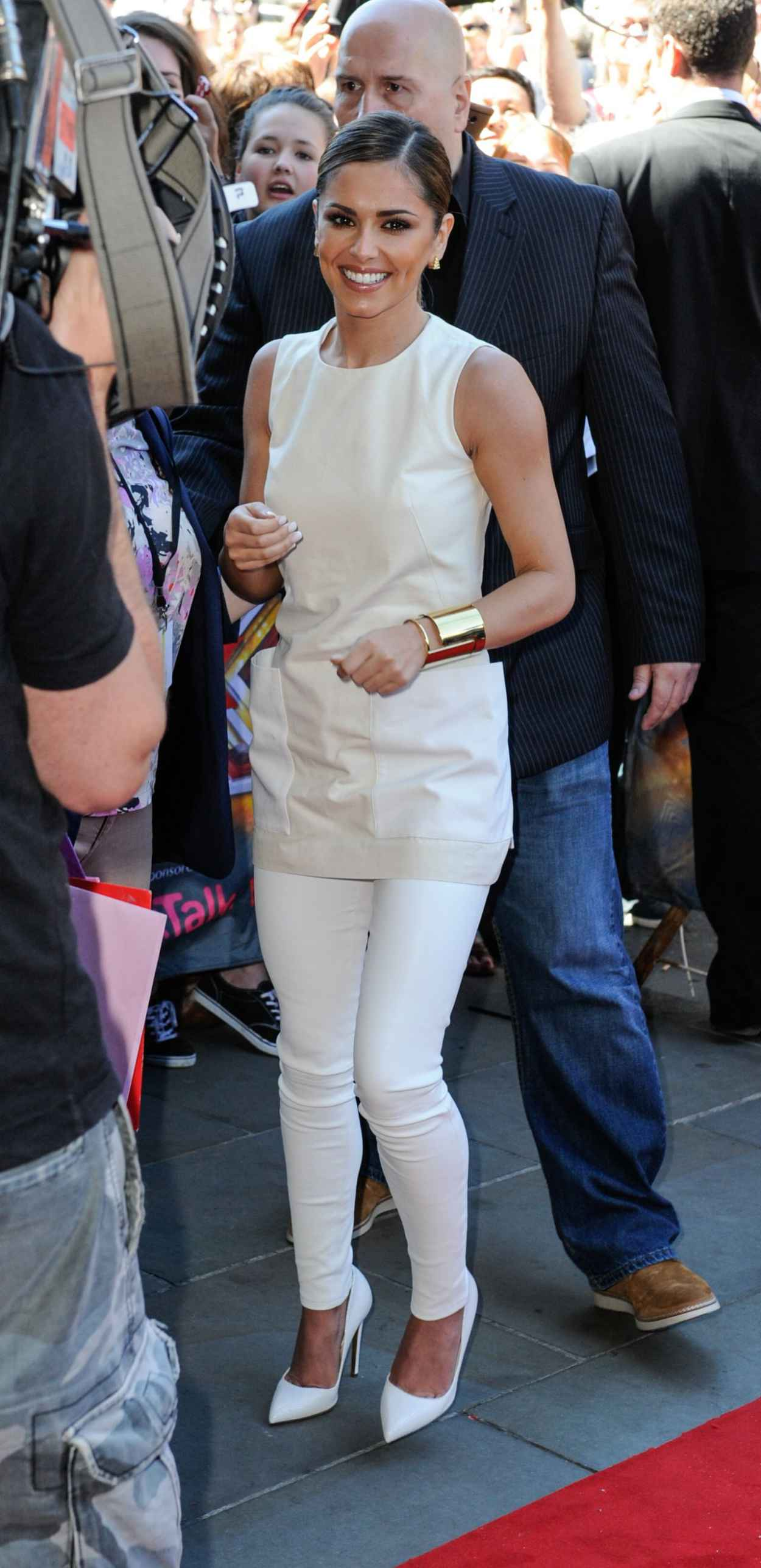 Cheryl Cole at X Factor auditions in Edinburgh - July 2015-5