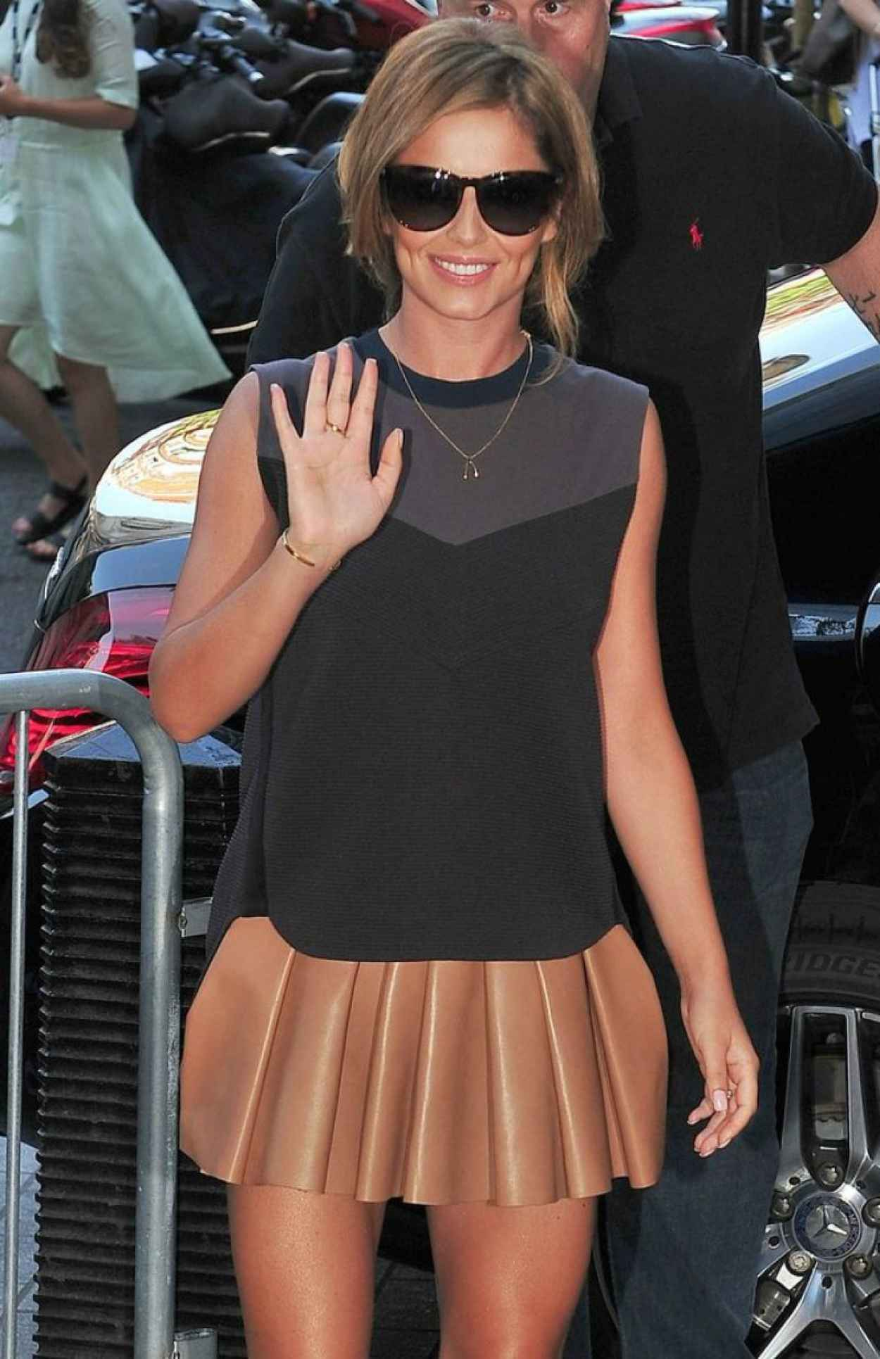 Cheryl Cole (Cheryl Fernandez-Versini) Arriving at Radio1 Studios in London - July 2015-1