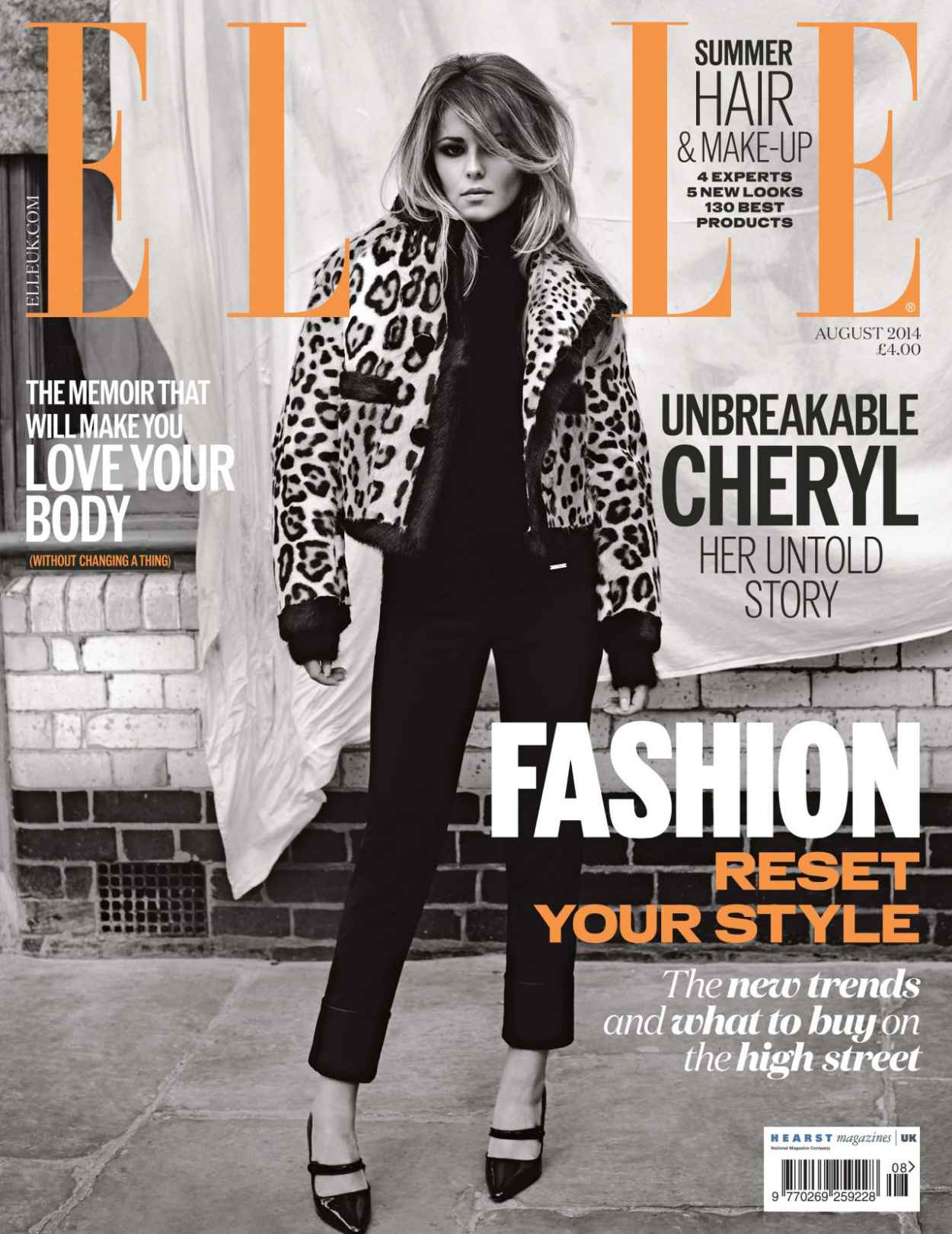 Cheryl Cole - Elle Magazine (UK) - August 2015 Issue-2