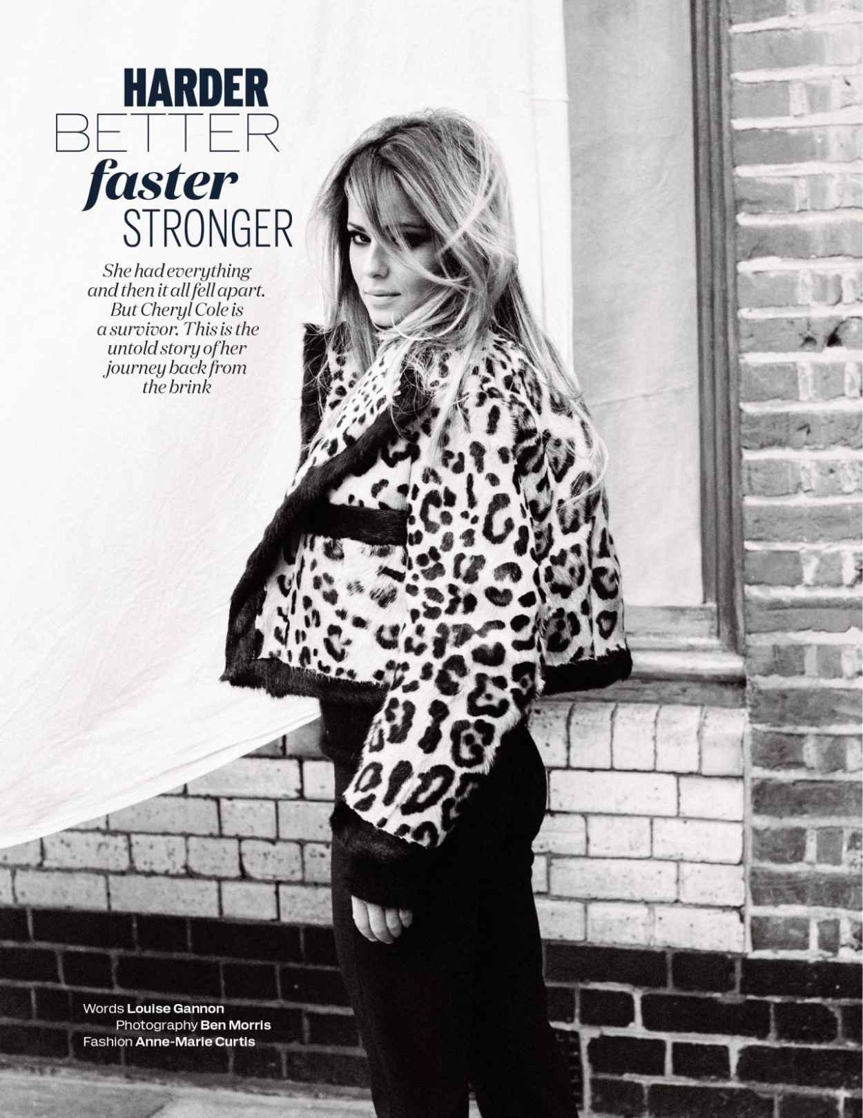 Cheryl Cole - Elle Magazine (UK) - August 2015 Issue-1