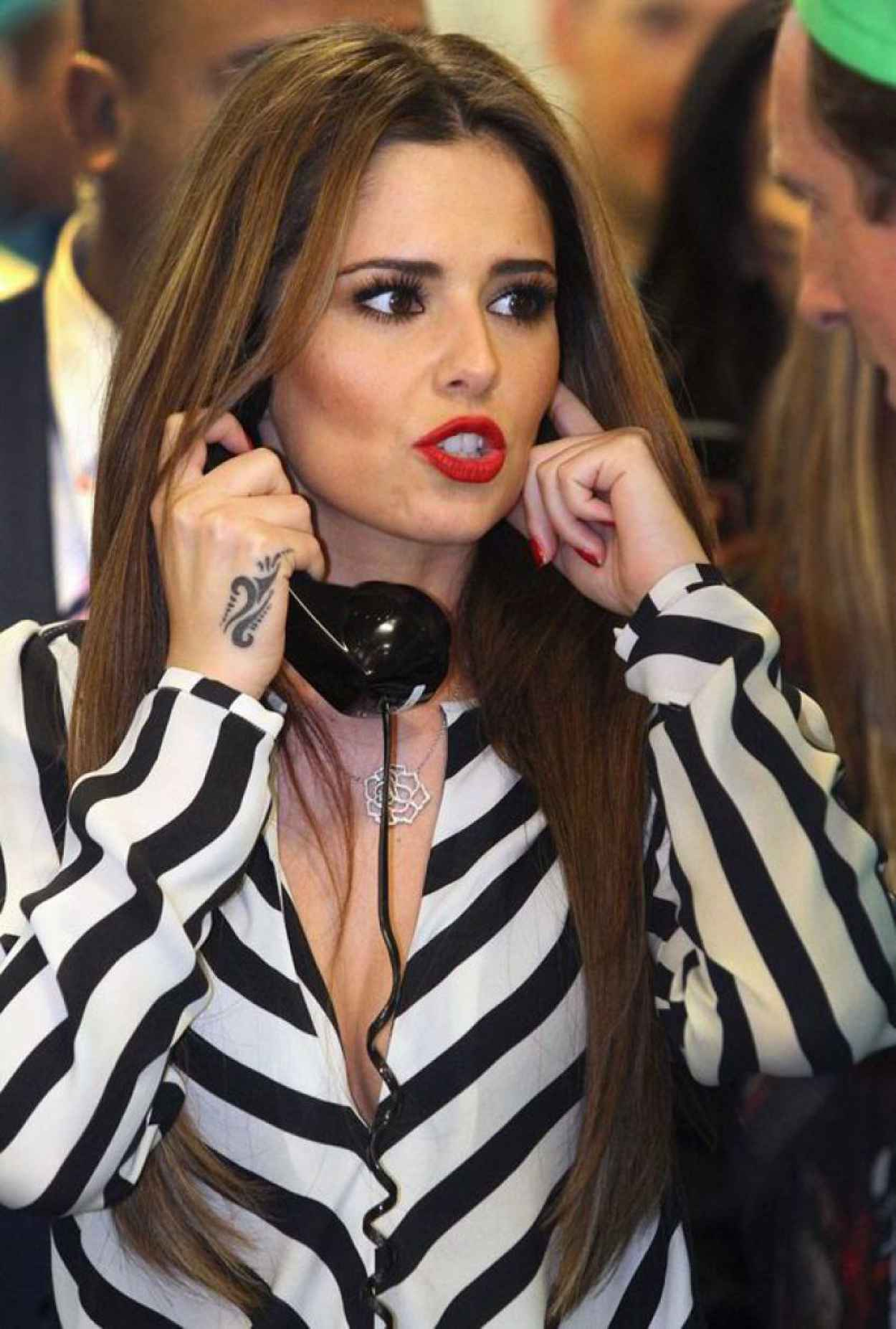 Cheryl Cole - ICAP Charity Day in London - December 2015-1