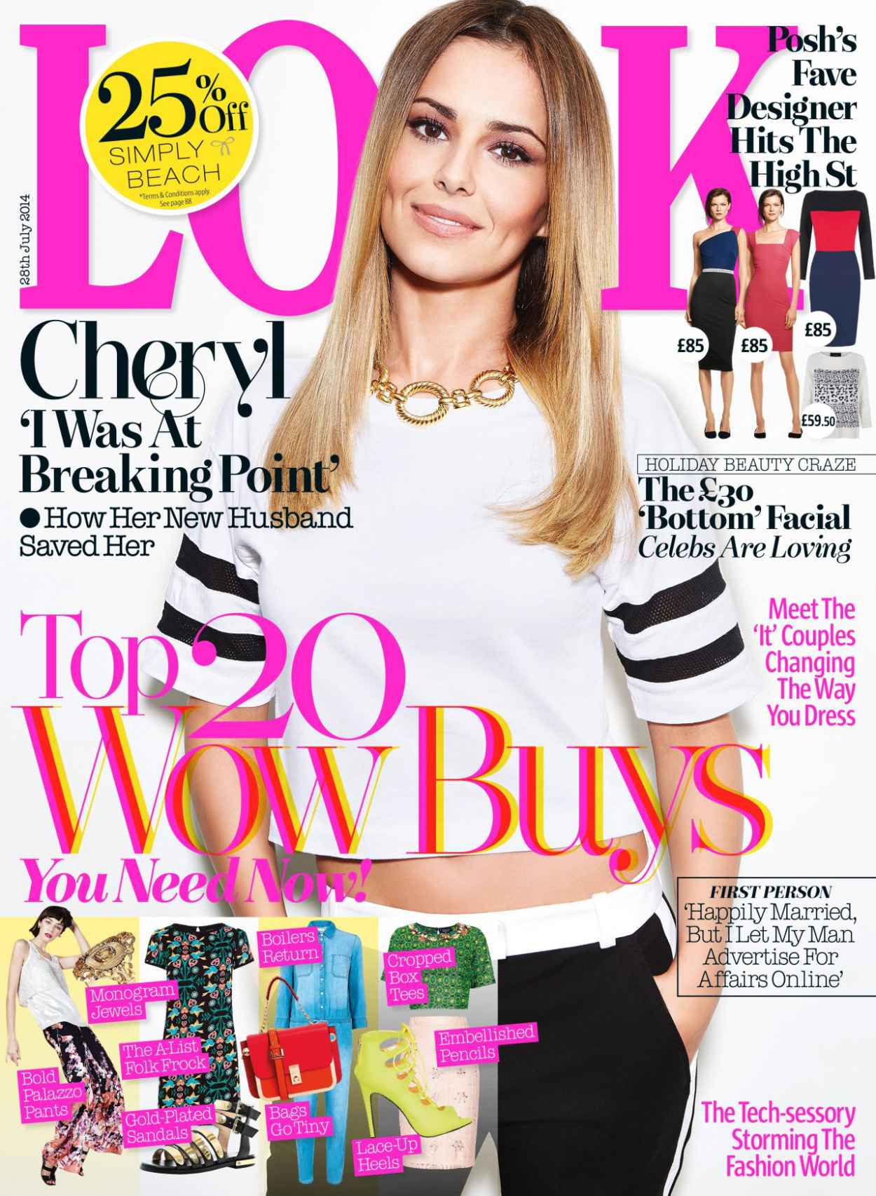 Cheryl Cole - Look Magazine (UK) - July 28th, 2015-1