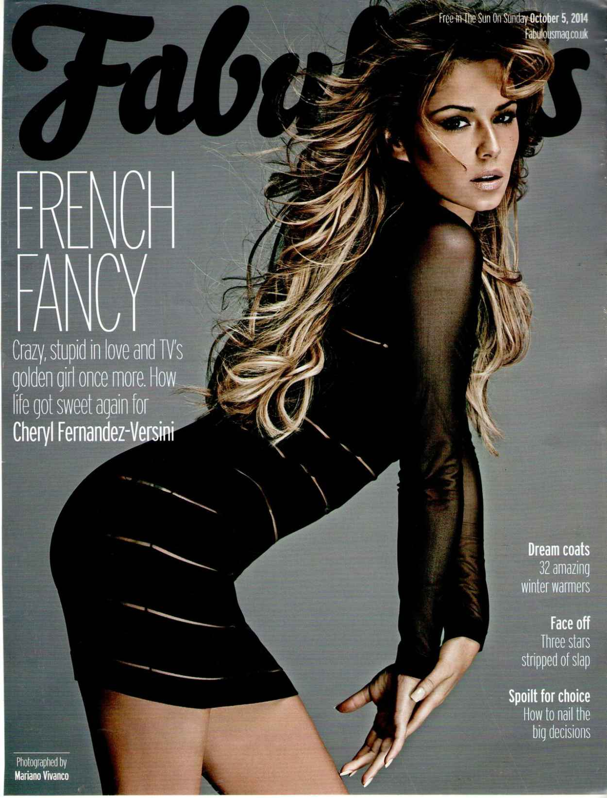 Cheryl Fernandez - Versini-Fabulous Magazine - October 5th 2015-1
