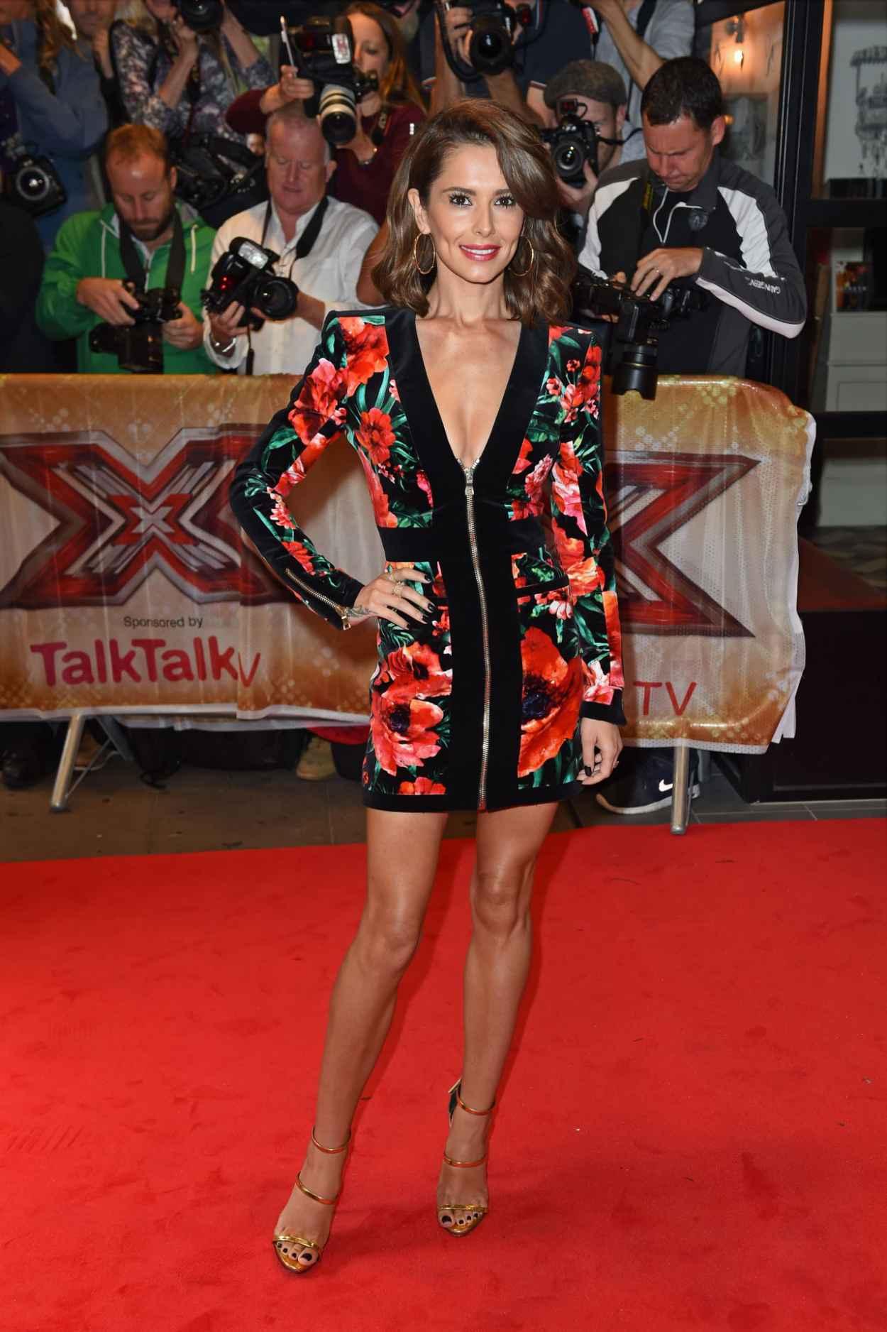 Cheryl Fernandez-Versini - The X-Factor Press Launch in London, August 2015-2