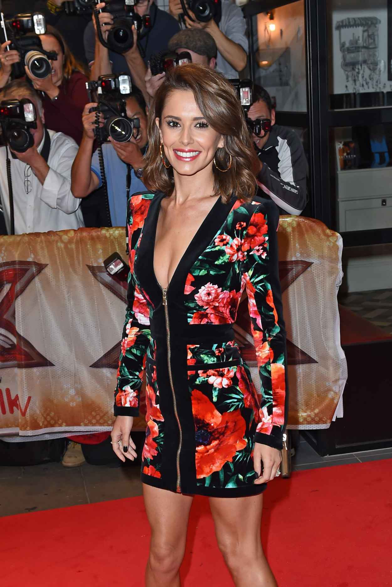 Cheryl Fernandez-Versini - The X-Factor Press Launch in London, August 2015-3