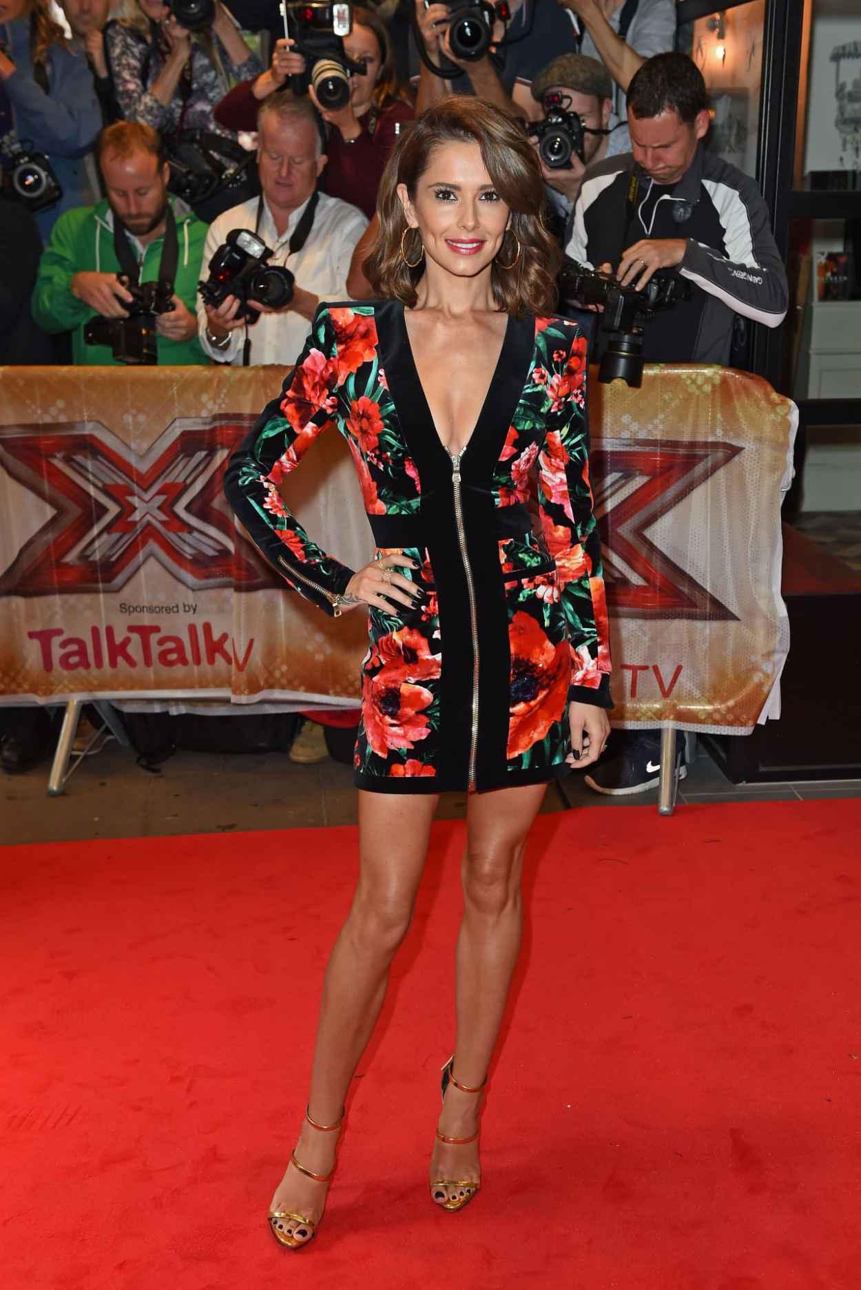 Cheryl Fernandez-Versini - The X-Factor Press Launch in London, August 2015-4
