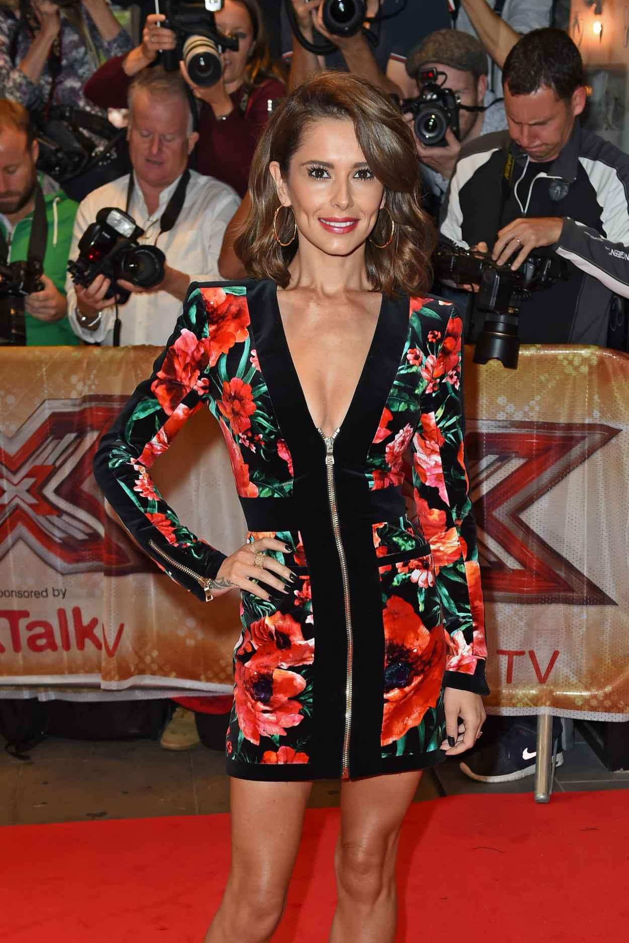 Cheryl Fernandez-Versini - The X-Factor Press Launch in London, August 2015-5