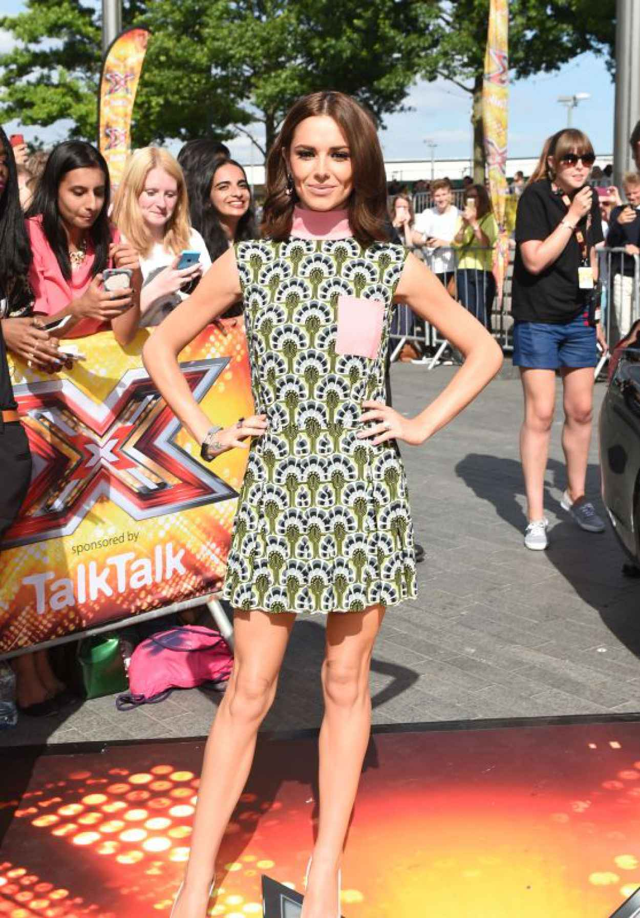 Cheryl Fernandez-Versini - X Factor Auditions at Wembley in London - July 2015-1