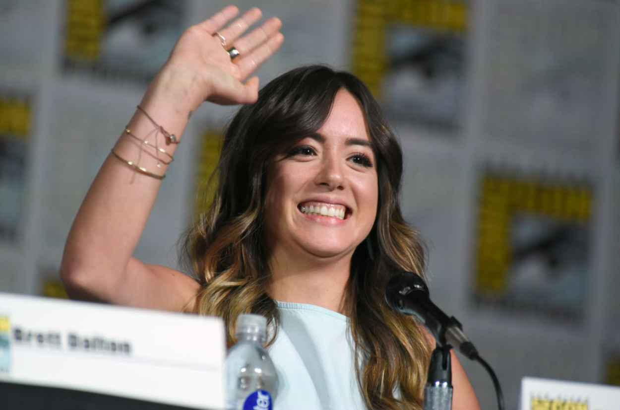 Chloe Bennet - Agents of S.H.I.E.L.D. Panel at Comic-Con in San Diego-2