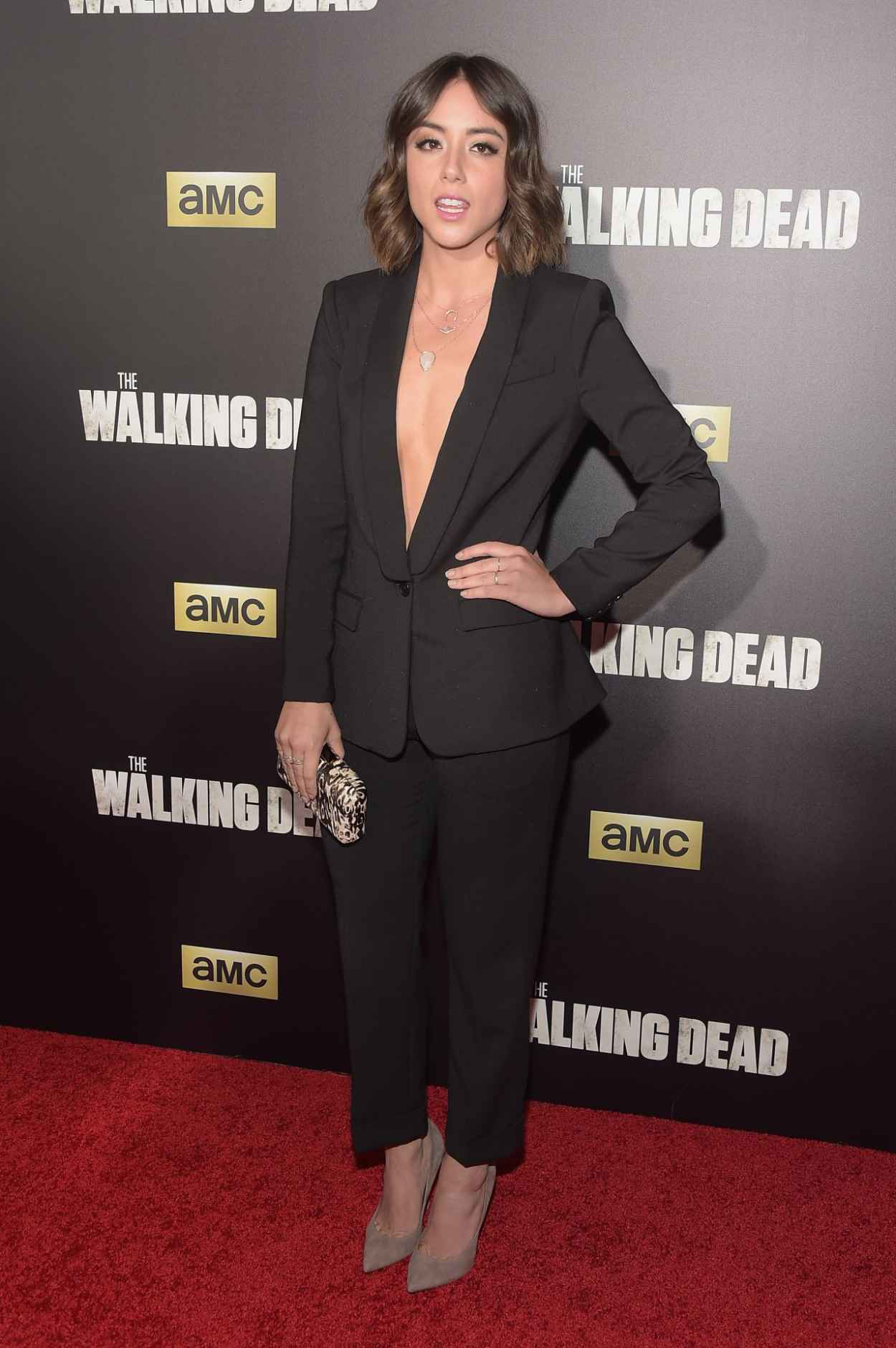 Chloe Bennet - AMCs The Walking Dead Season 6 Fan Premiere Event in New York City-2