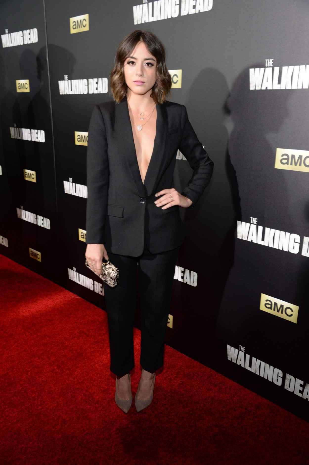 Chloe Bennet - AMCs The Walking Dead Season 6 Fan Premiere Event in New York City-3