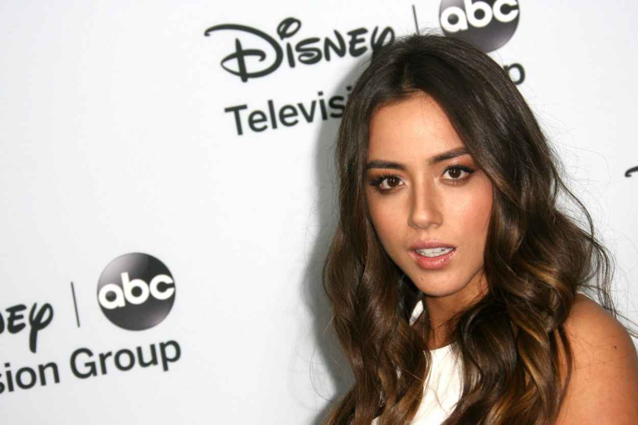 Chloe Bennet at Disney ABC Television Group Host 2015 TCA Winter Press Tour-1