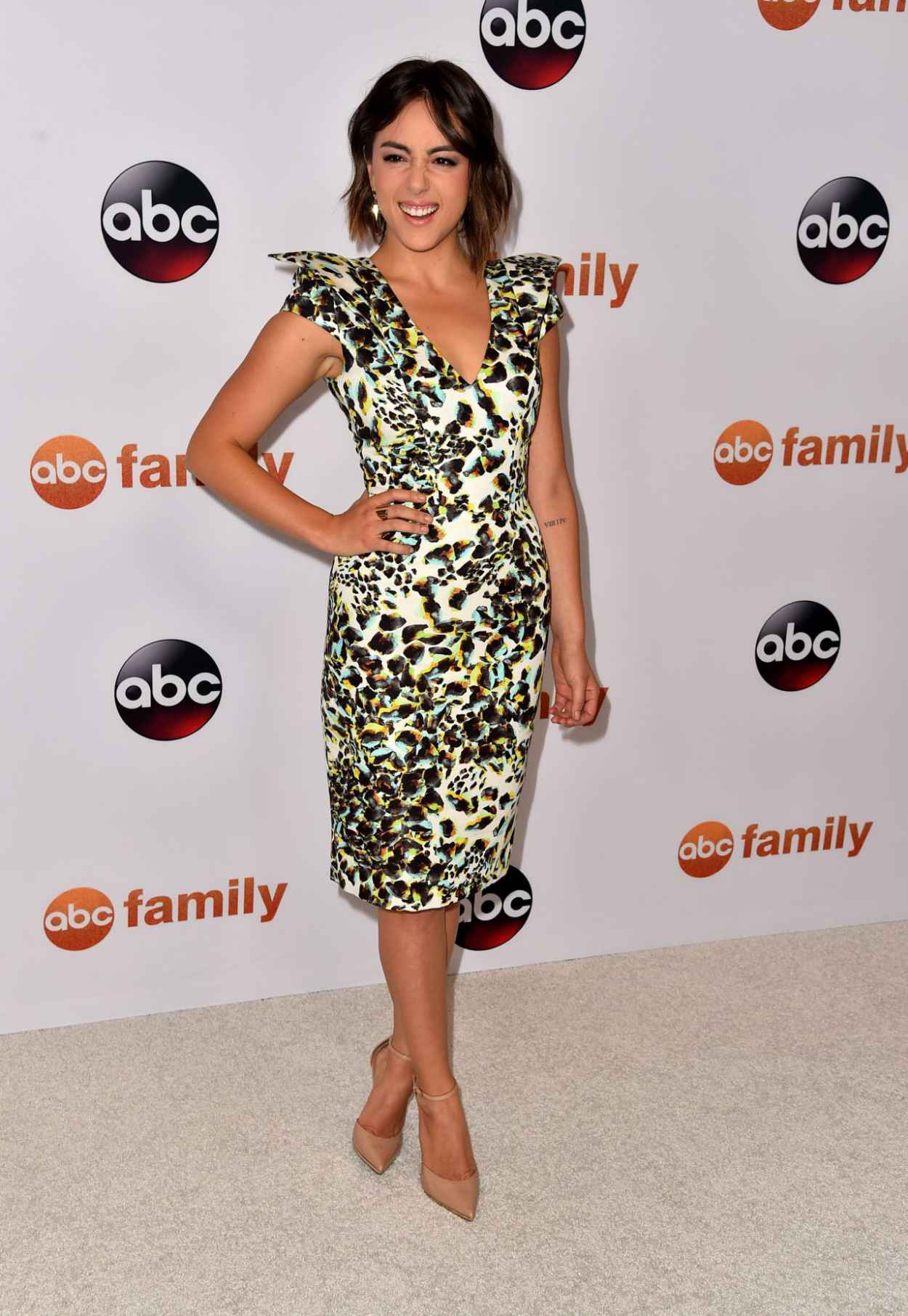 Chloe Bennet - Disney ABC 2015 Summer TCA Press Tour Photo Call in Beverly Hills-5