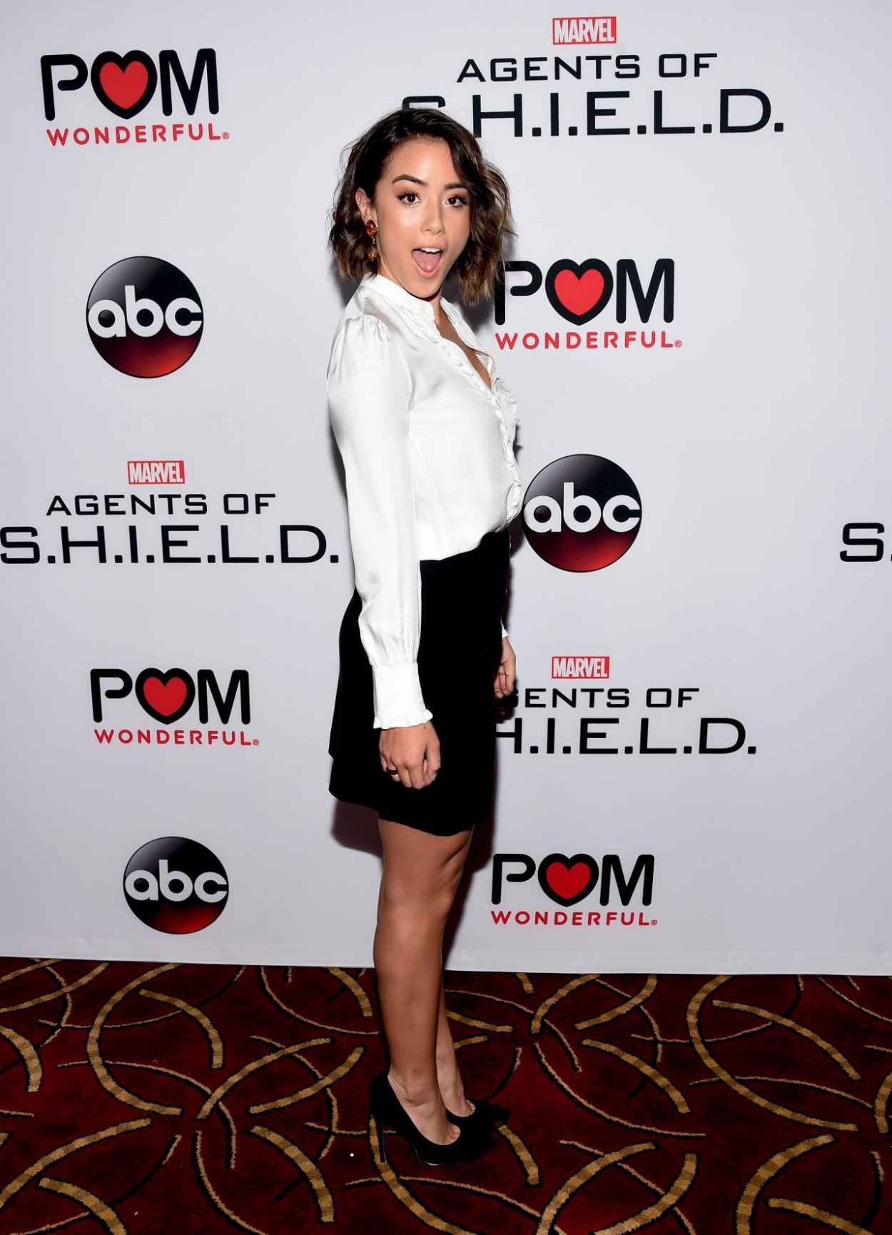 Chloe Bennet - Marvels Agents of SHIELD Season 3 Premiere in Los Angeles-3