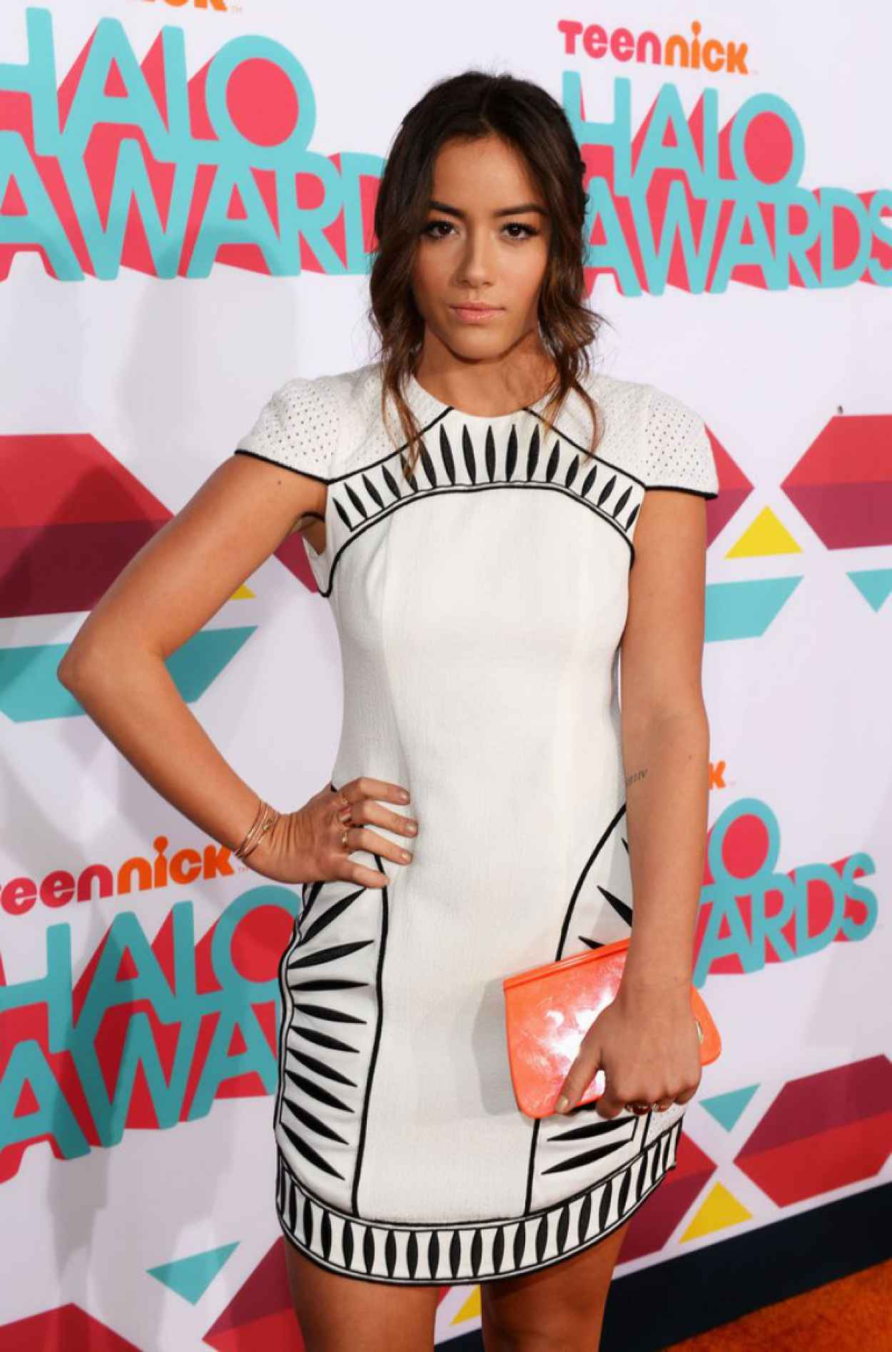 Chloe Bennet Red Carpet Photos - 2015 HALO Awards-1