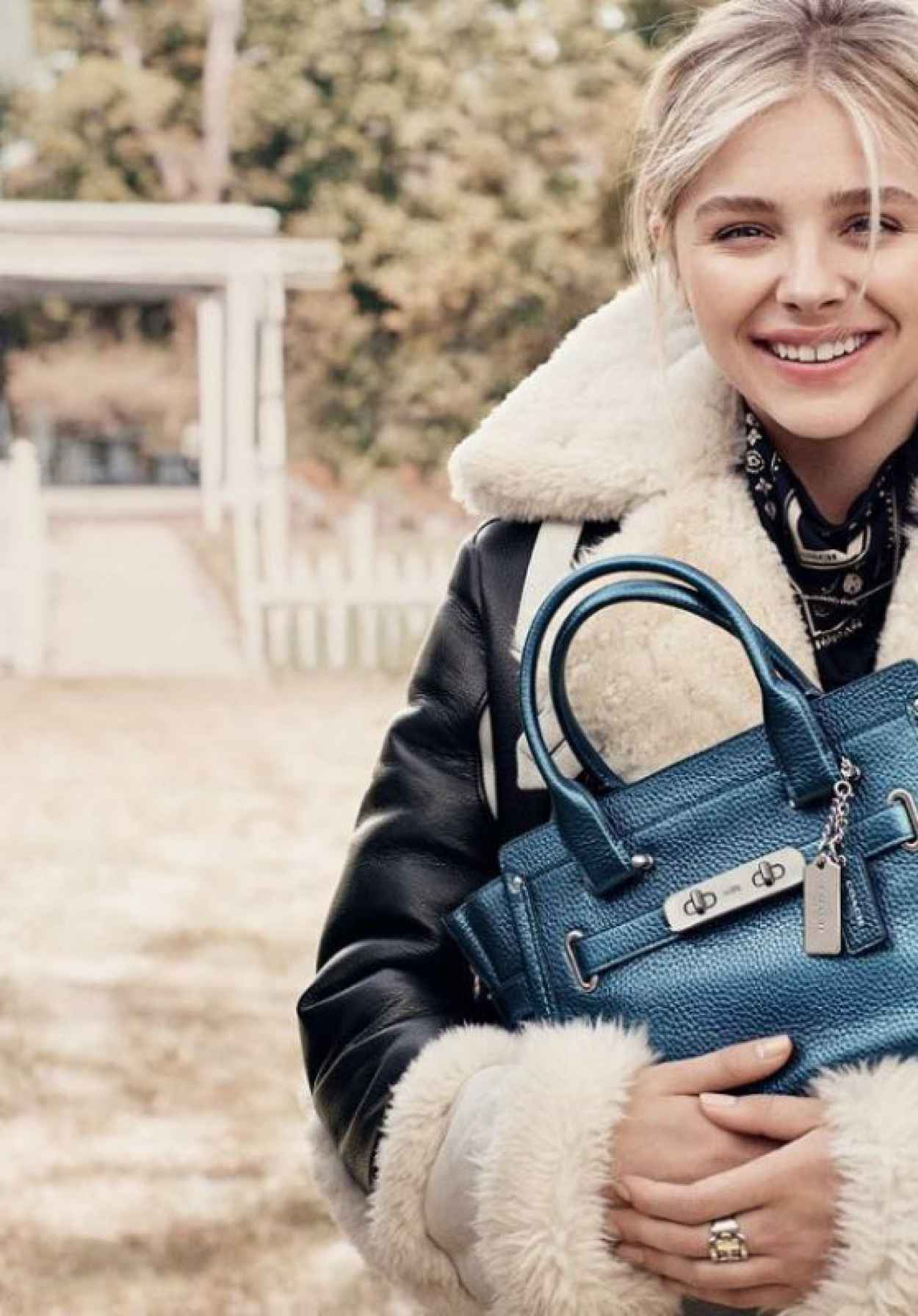 Chloë Grace Moretz is the Face of Coachs Fragrance Coach the