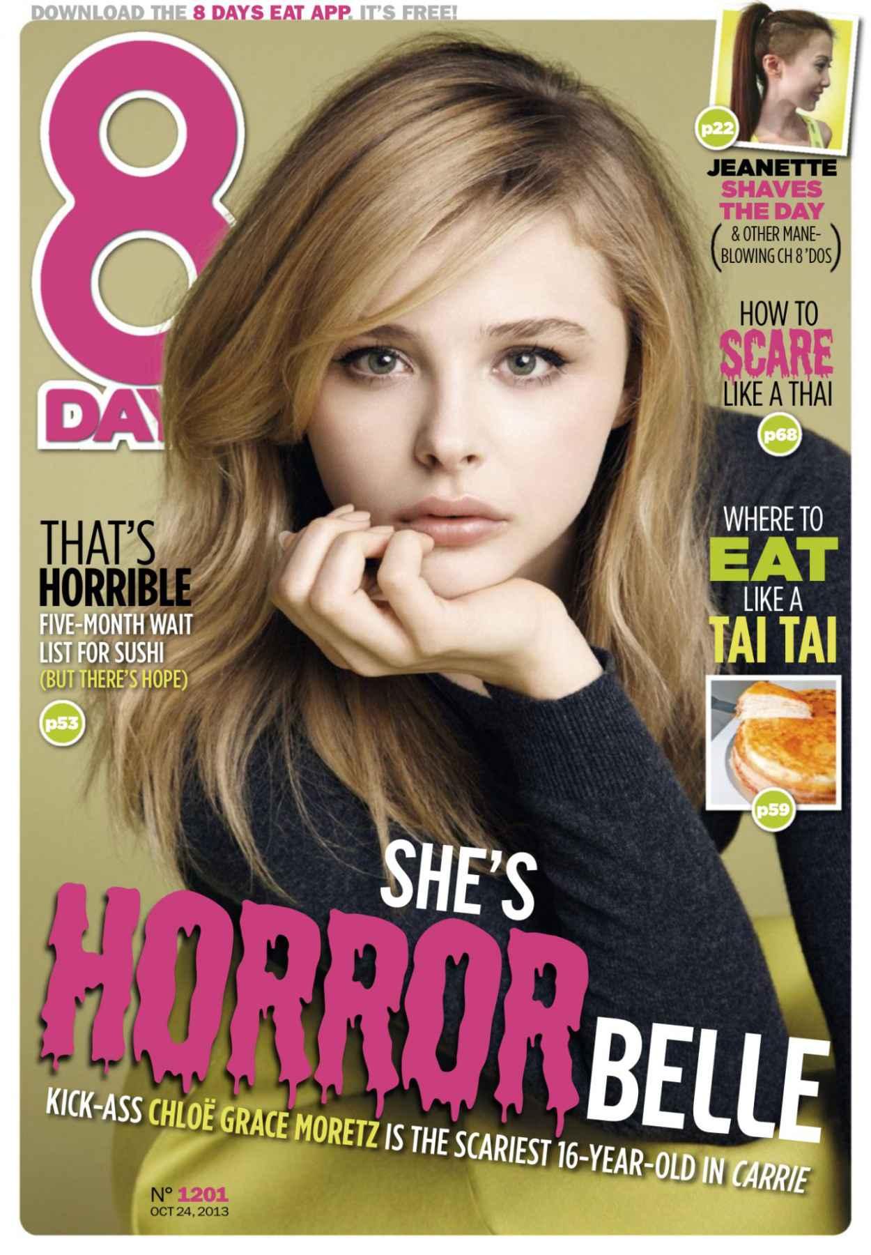 Chloe Moretz - 8 DAYS Magazine - October 2015 Issue-1