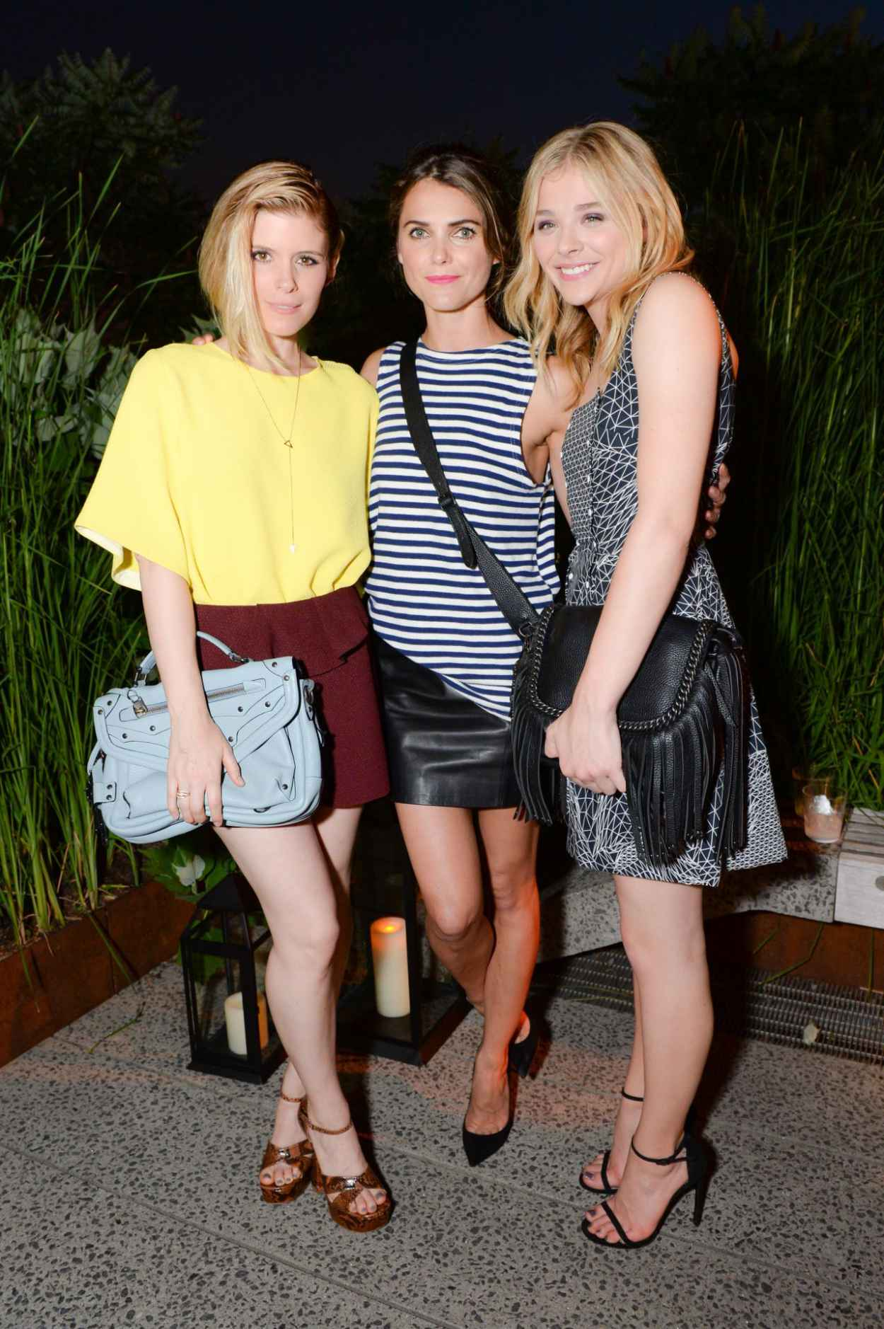 Chloe Moretz, Kate Mara and Keri Russell - 2015 Coach Summer Party in New York City-1