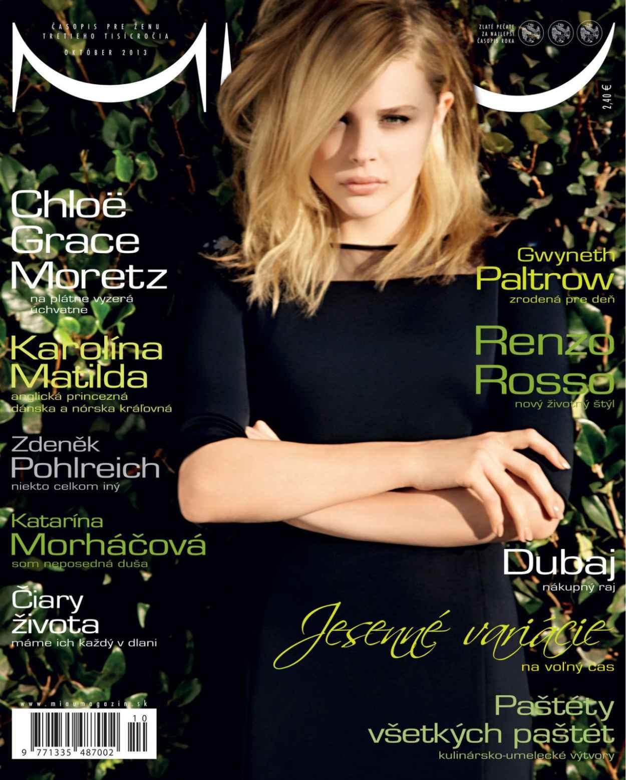 Chloe Moretz - MIAU Magazine - October 2015 Issue-1