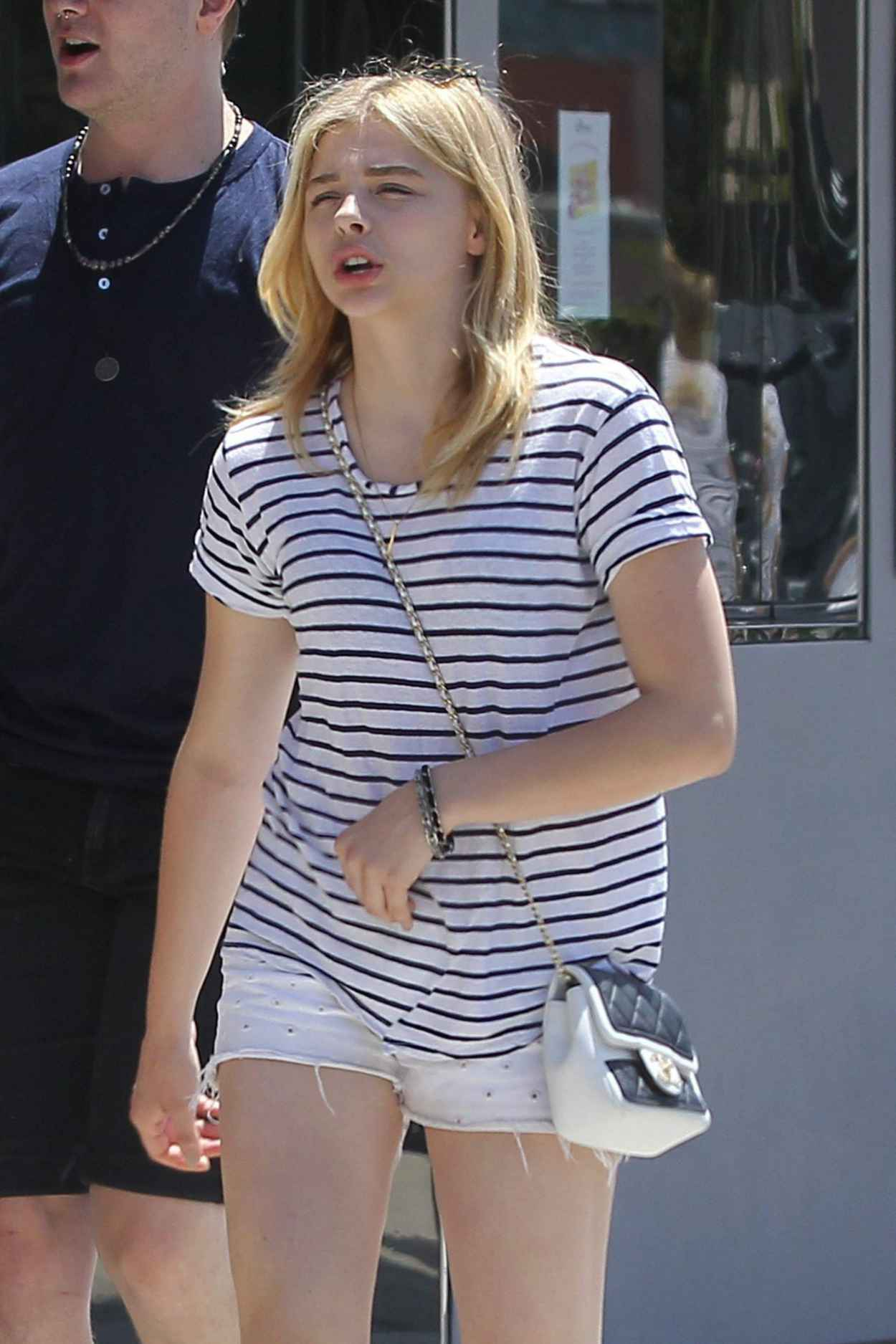 Chloe Moretz - Out for Lunch in Los Angeles - June 2015-1