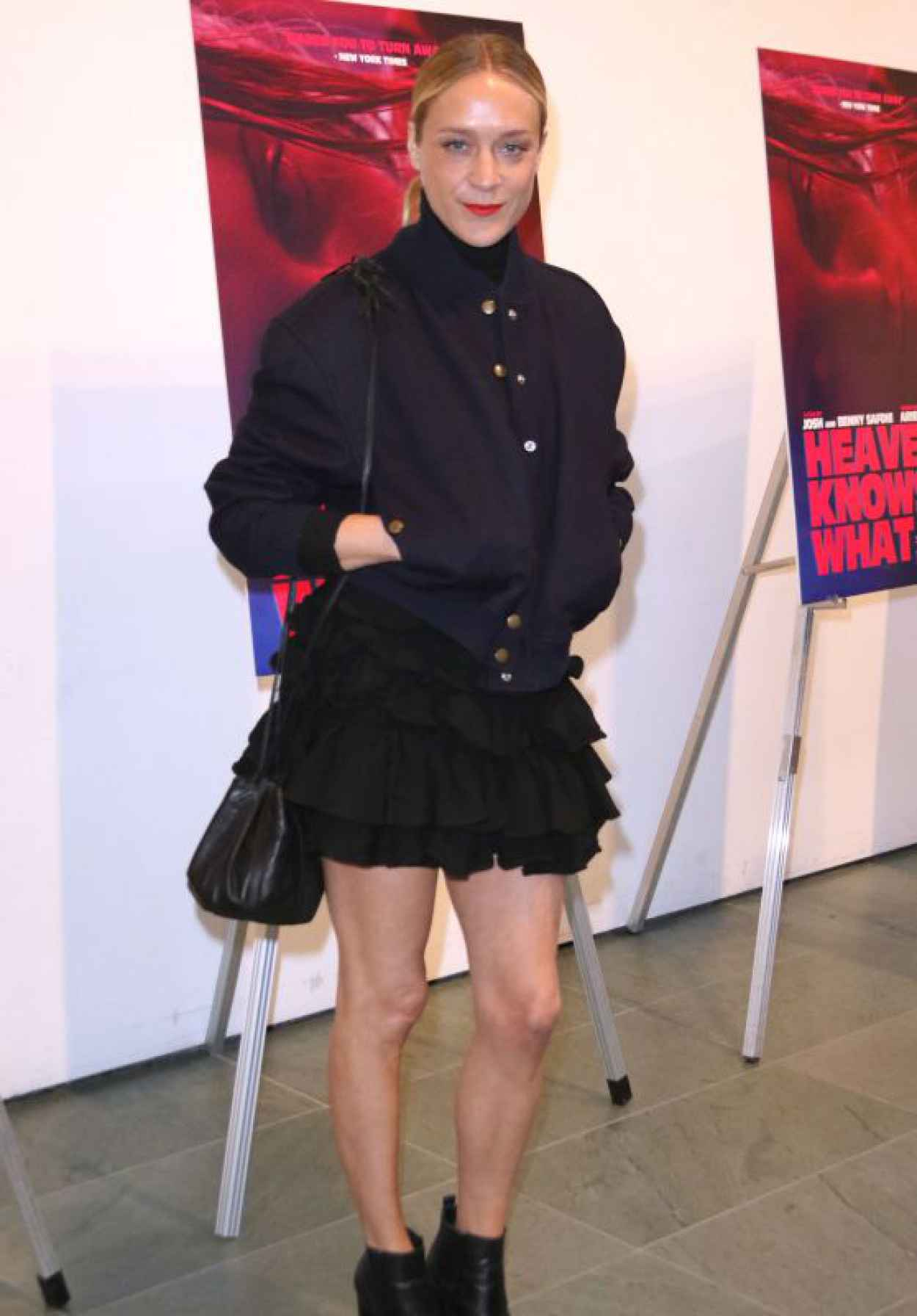 Chloe Sevigny - Heaven Knows What Premiere in New York-1