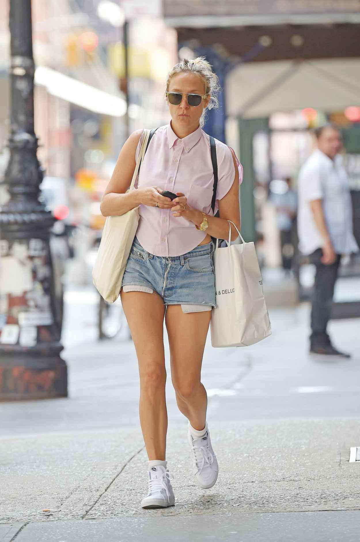 Chloe Sevigny - Out in New York City - August 2015-1