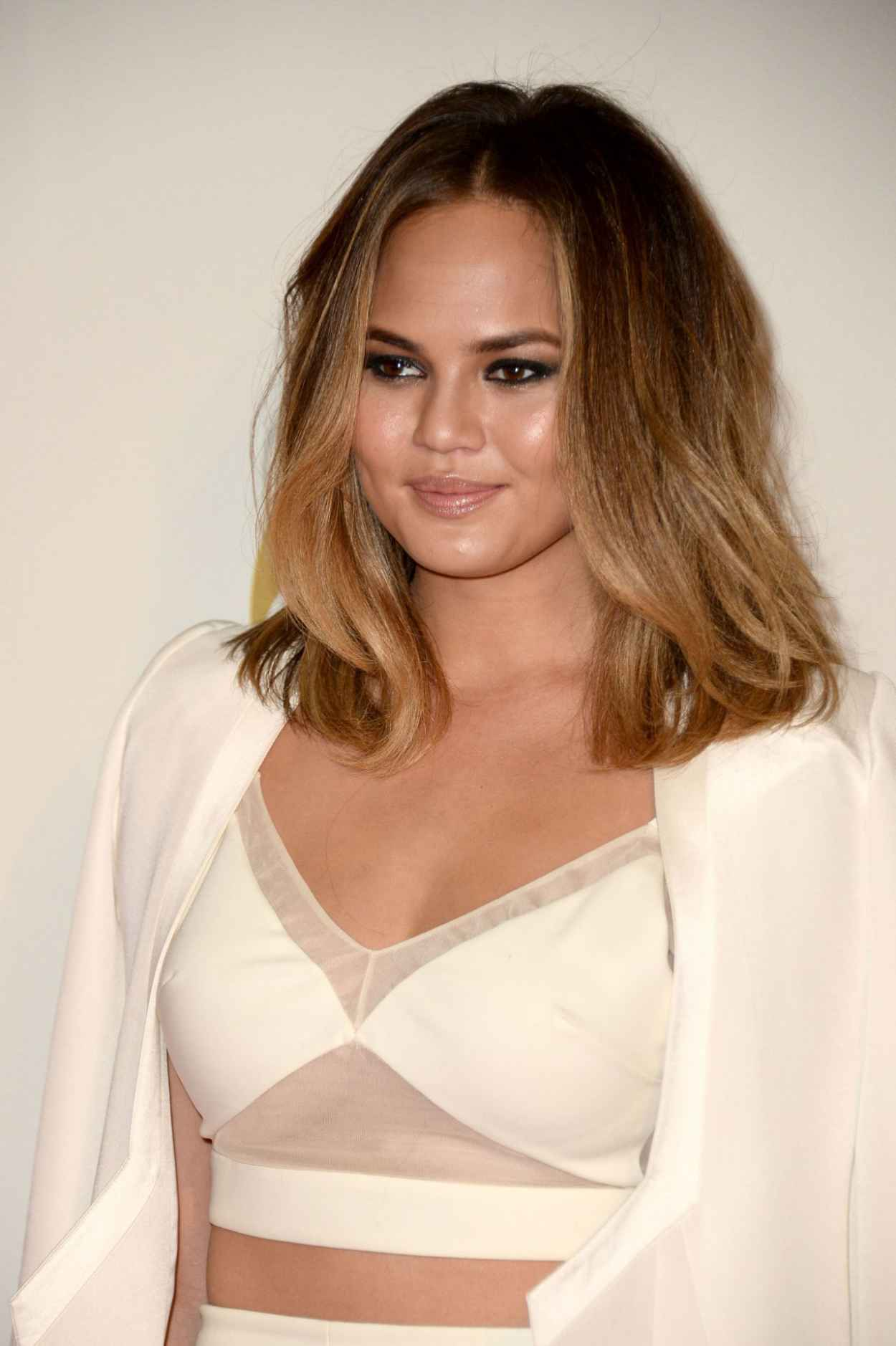 Chrissy Teigen - A GRAMMY Salute To The Beatles, January 2015-1