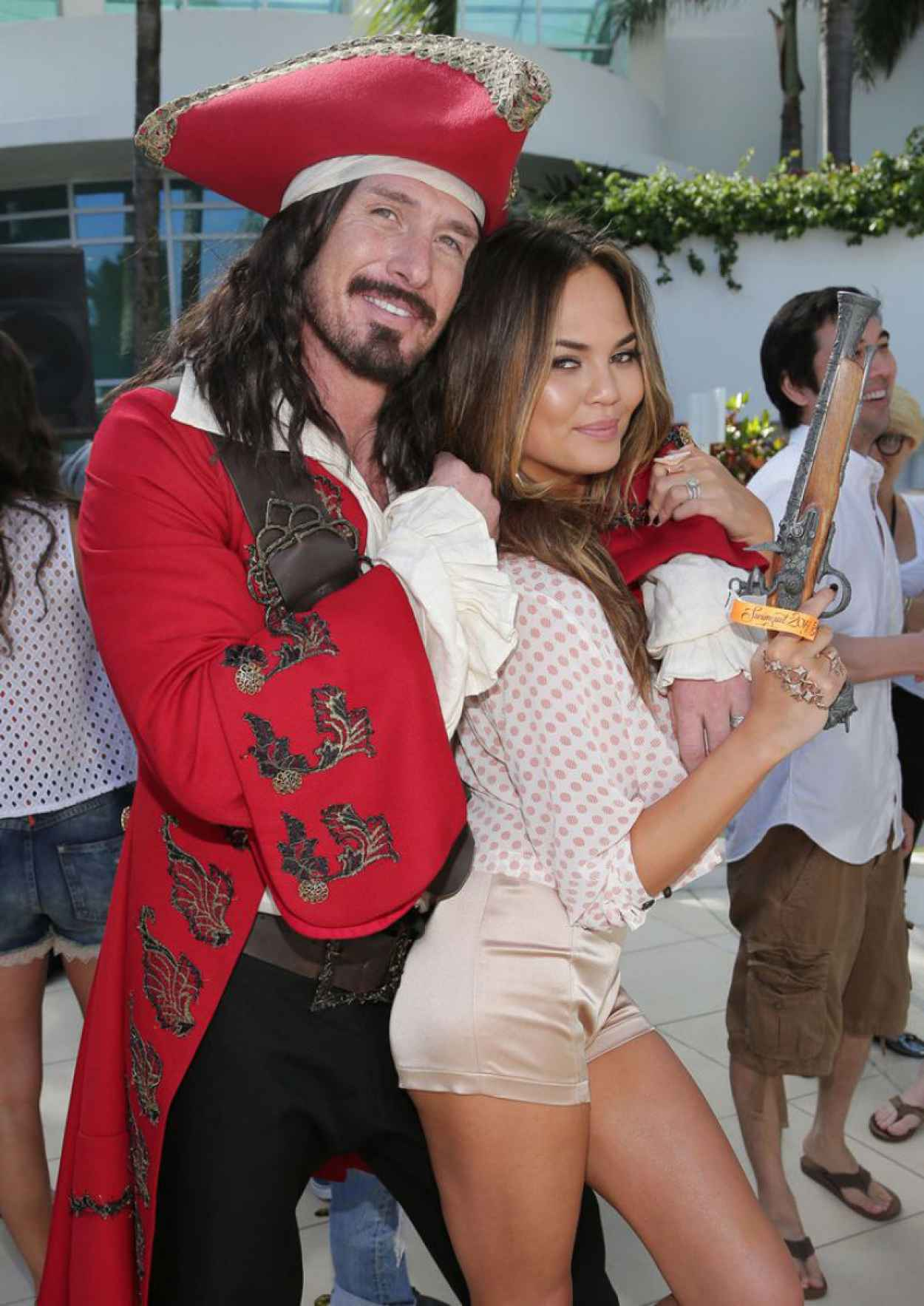 Chrissy Teigen - Captain Morgan Celebrates SI Swimsuit-s 50th Anniversary in Miami (2014)-1