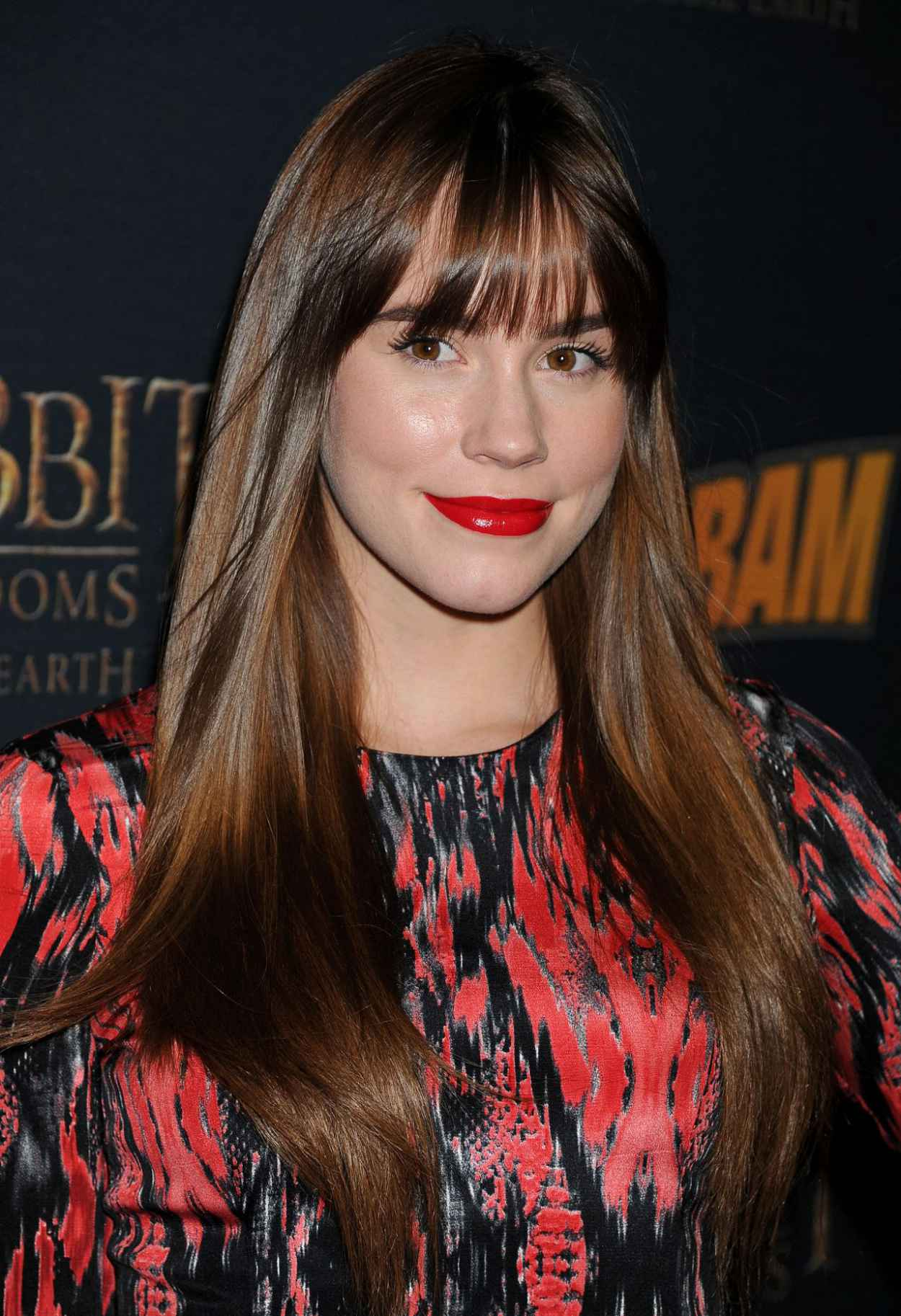 Christa B. Allen - THE HOBBIT: THE DESOLATION OF SMAUG Expansion Kabam Mobile Game Party - December 2015-1