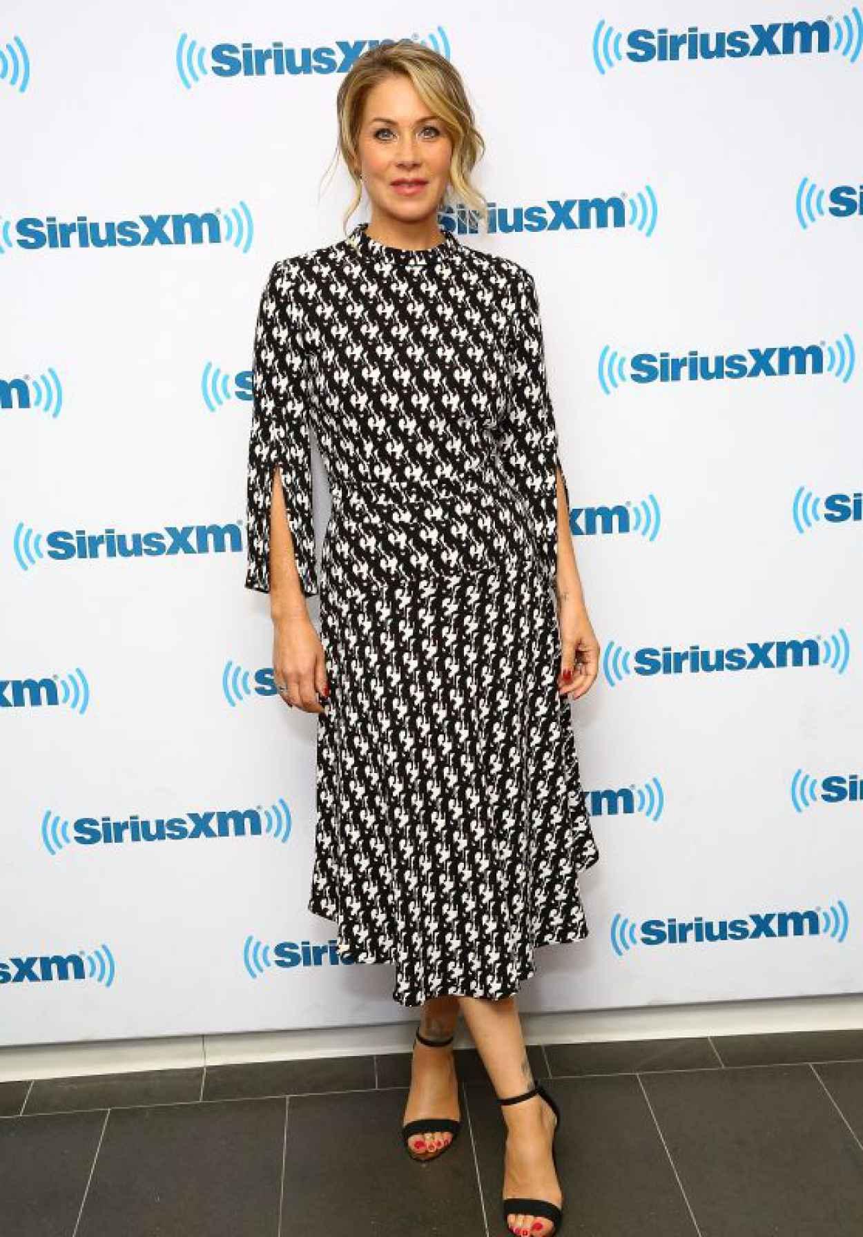 Christina Applegate at SiriusXM Studios in NYC, July 2015-1