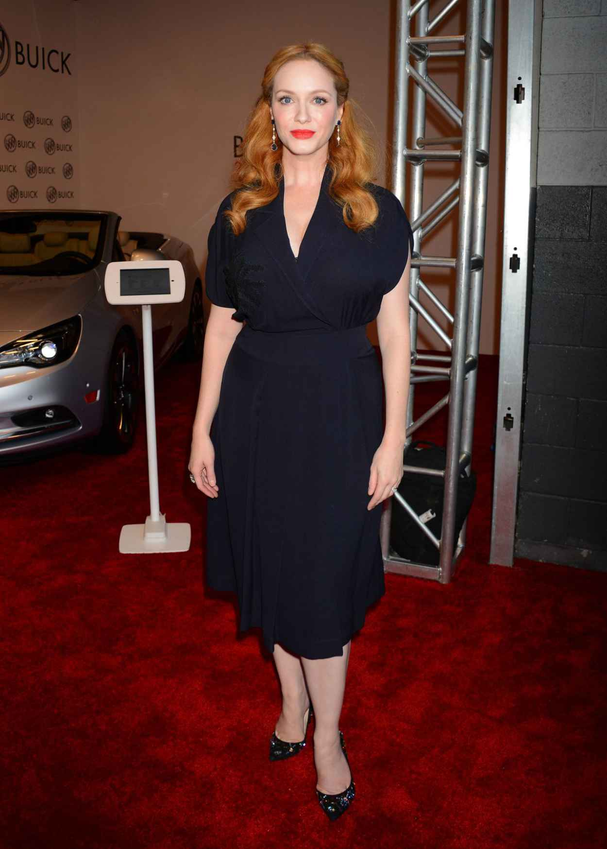 Christina Hendricks - 24 Hours of Happiness Test Drive Event at Ace Museum in Los Angeles-2