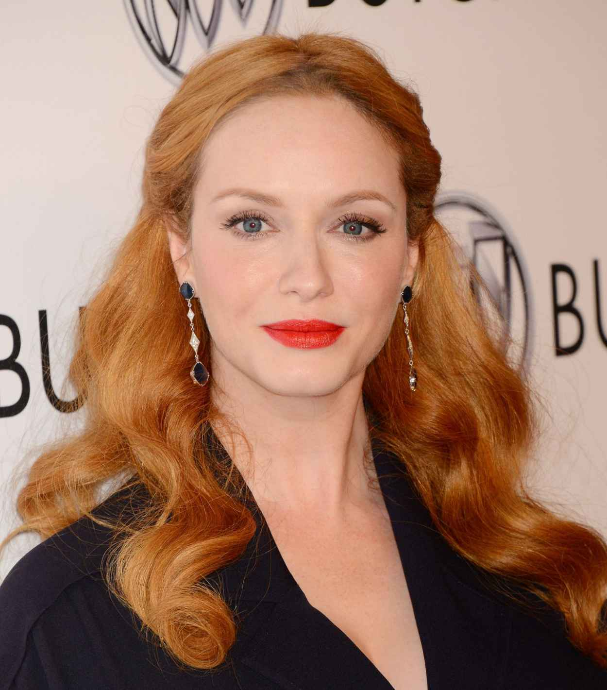 Christina Hendricks - 24 Hours of Happiness Test Drive Event at Ace Museum in Los Angeles-5