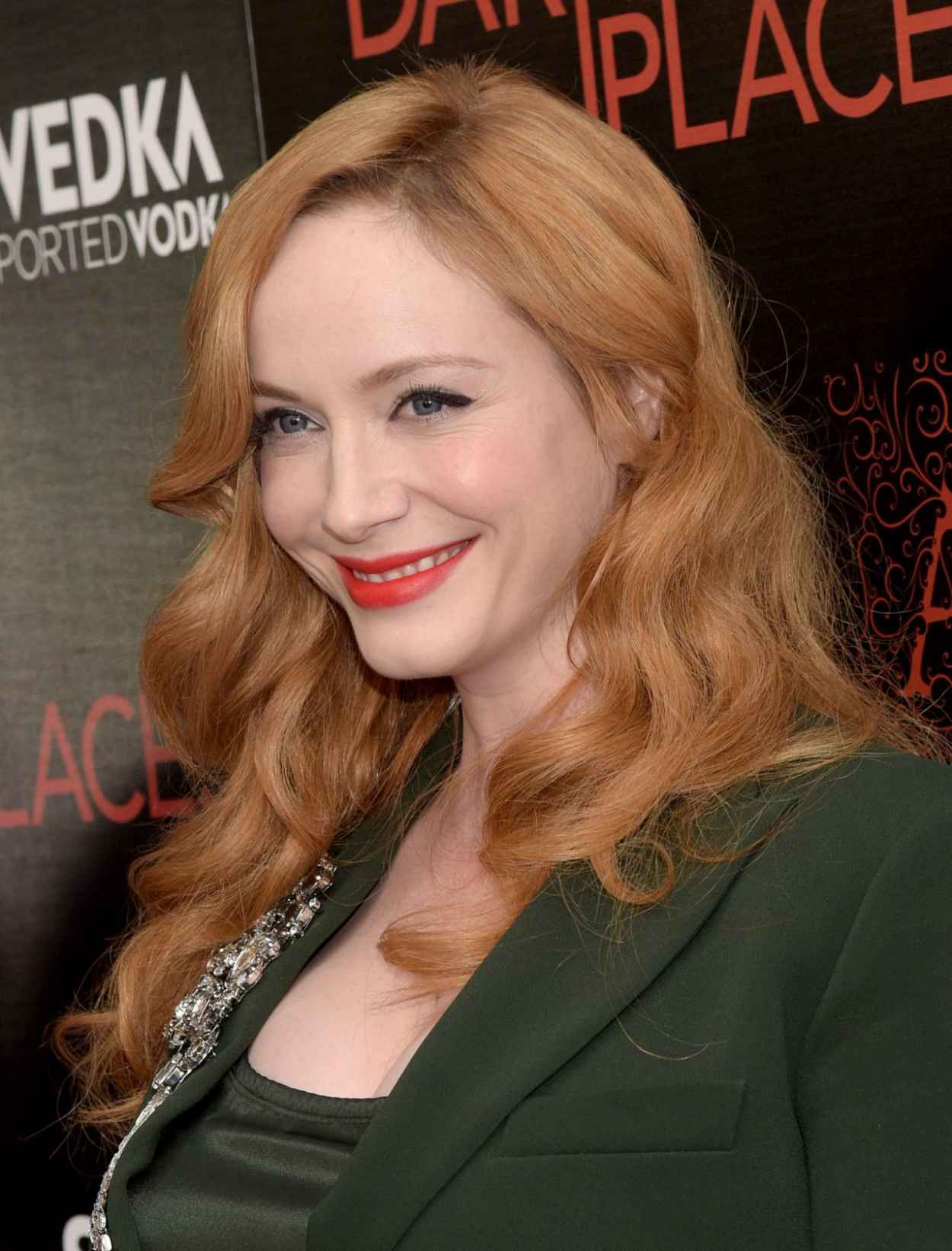 Christina Hendricks - DIRECTV-s Dark Places Premiere in Los Angeles-3