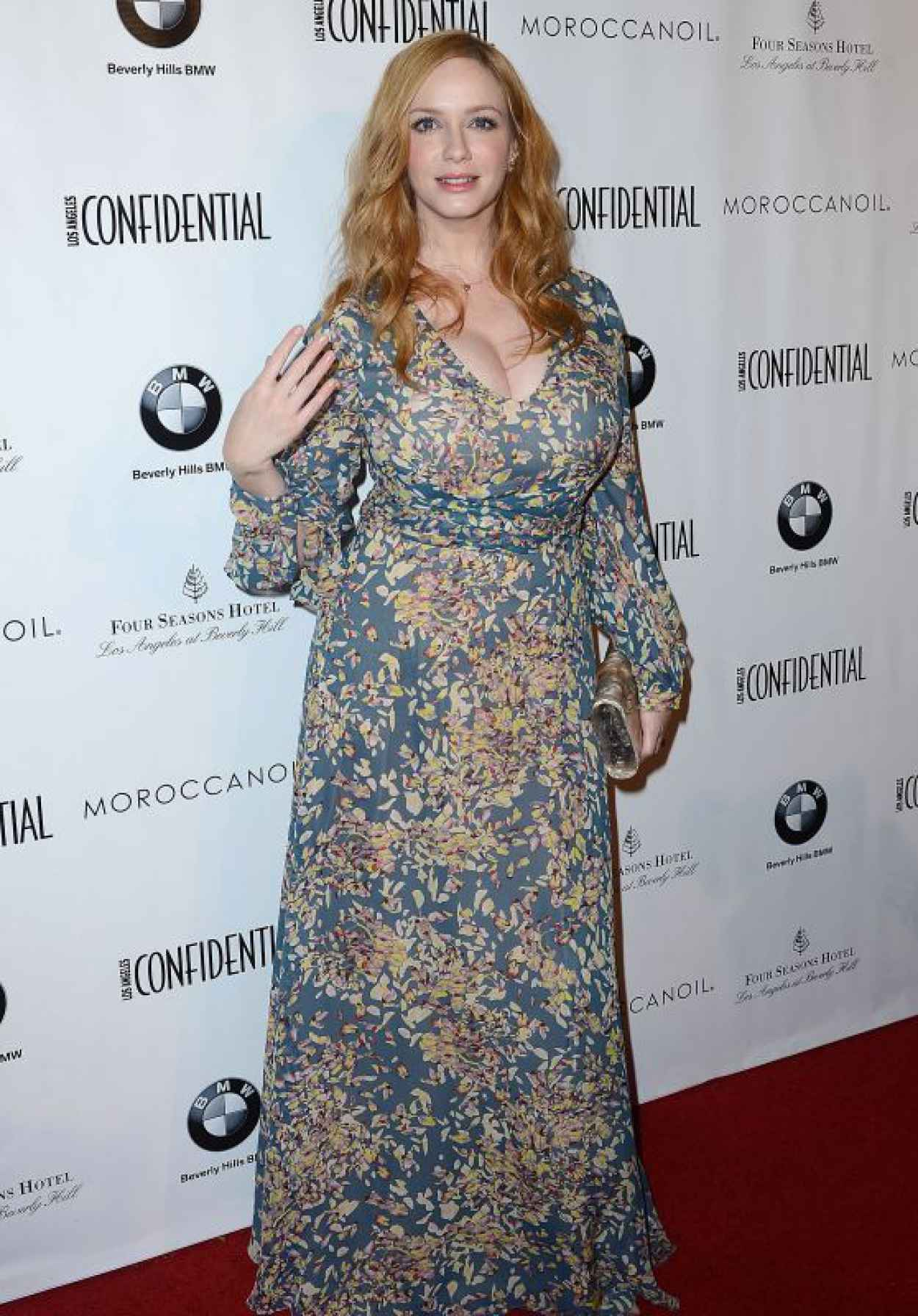 Christina Hendricks - Los Angeles Confindential Magazine Celebrates the Women Of Influene Issue in Beverly Hills-1
