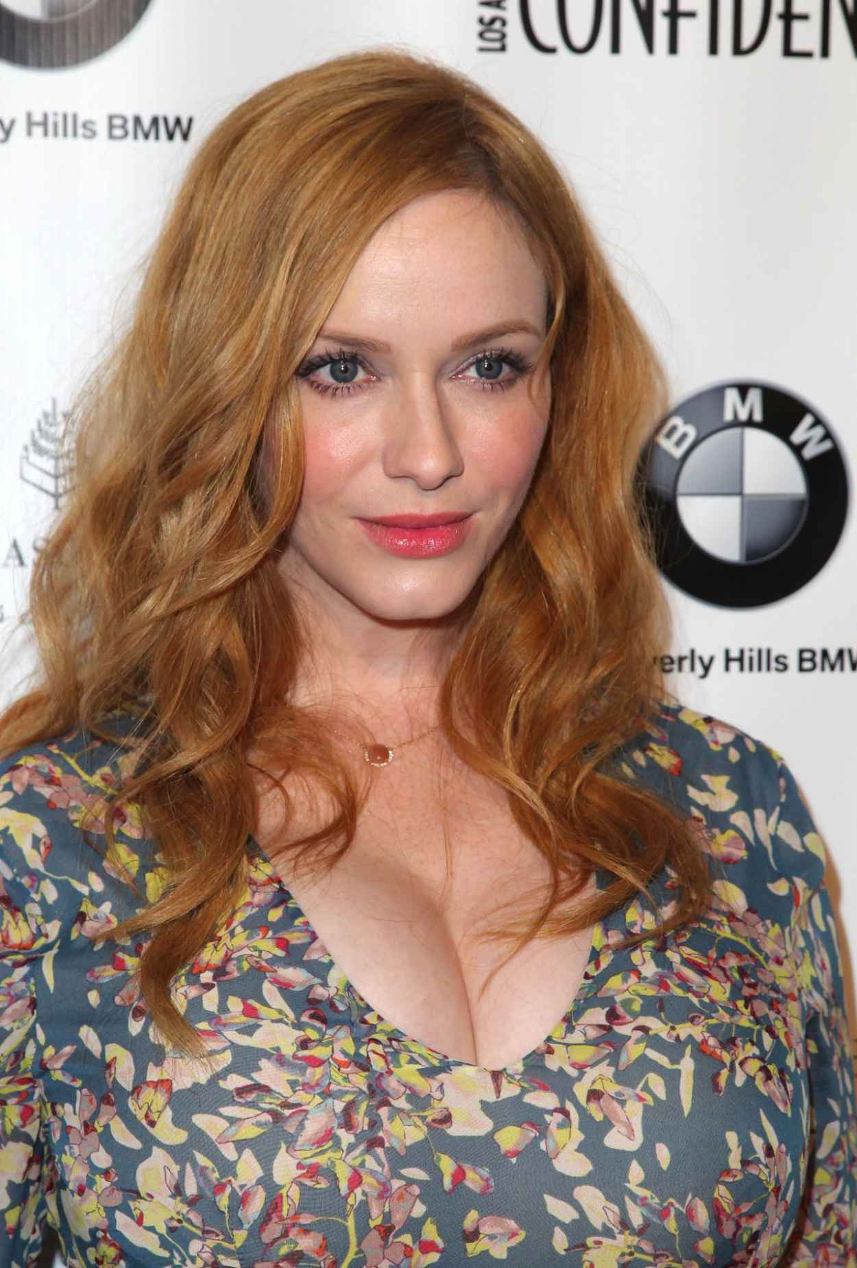 Christina Hendricks - Los Angeles Confindential Magazine Celebrates the Women Of Influene Issue in Beverly Hills-3
