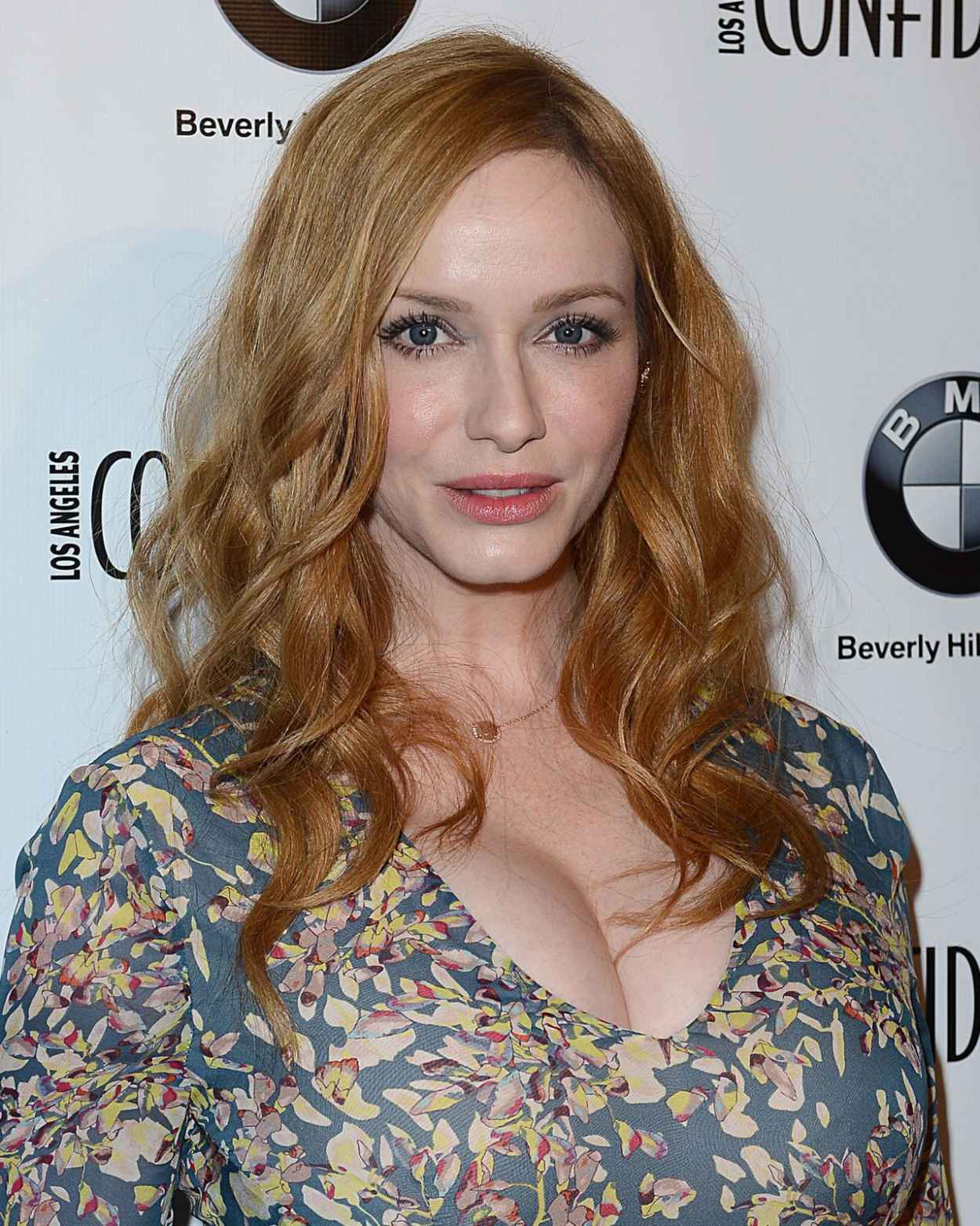 Christina Hendricks - Los Angeles Confindential Magazine Celebrates the Women Of Influene Issue in Beverly Hills-4