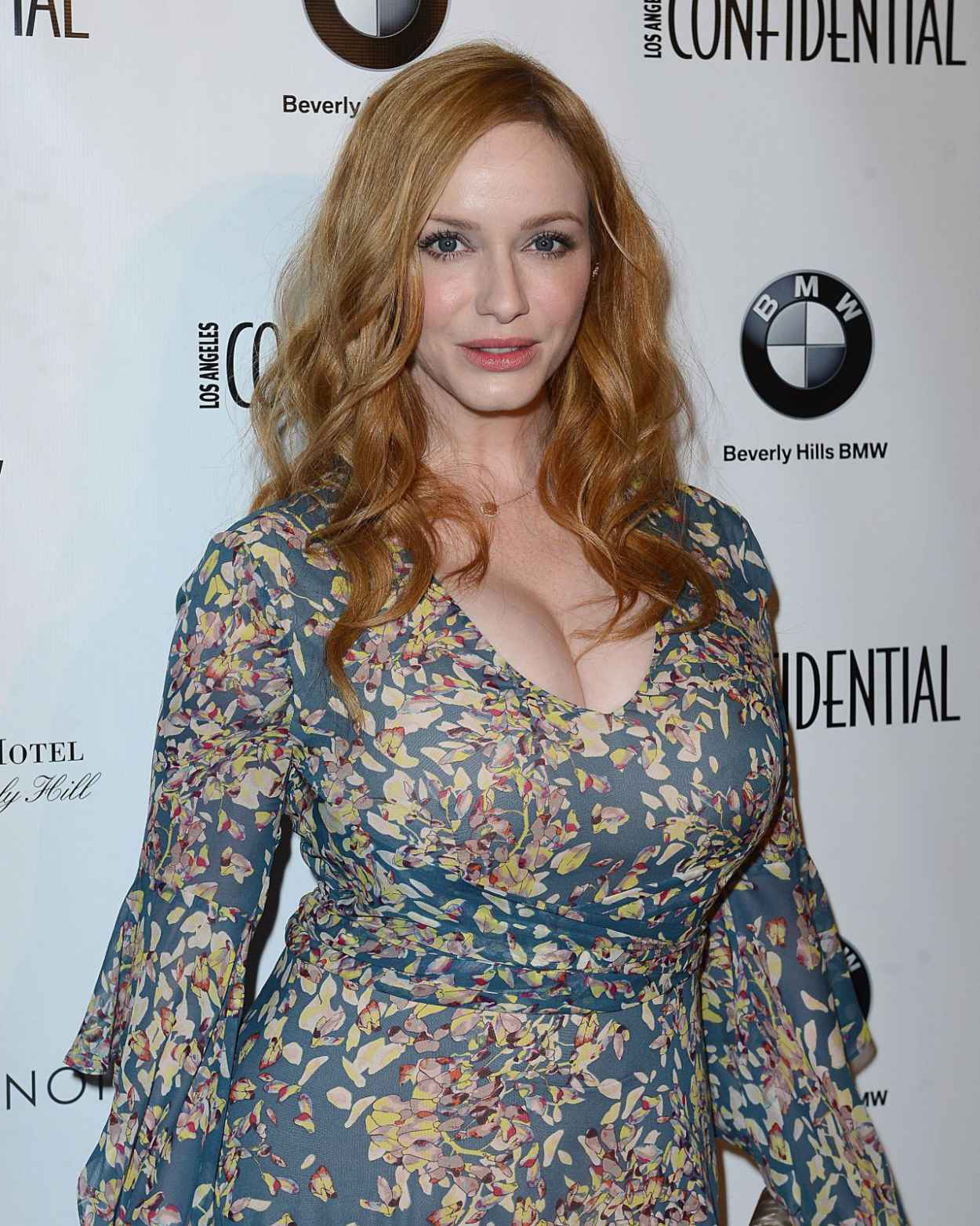 Christina Hendricks - Los Angeles Confindential Magazine Celebrates the Women Of Influene Issue in Beverly Hills-5
