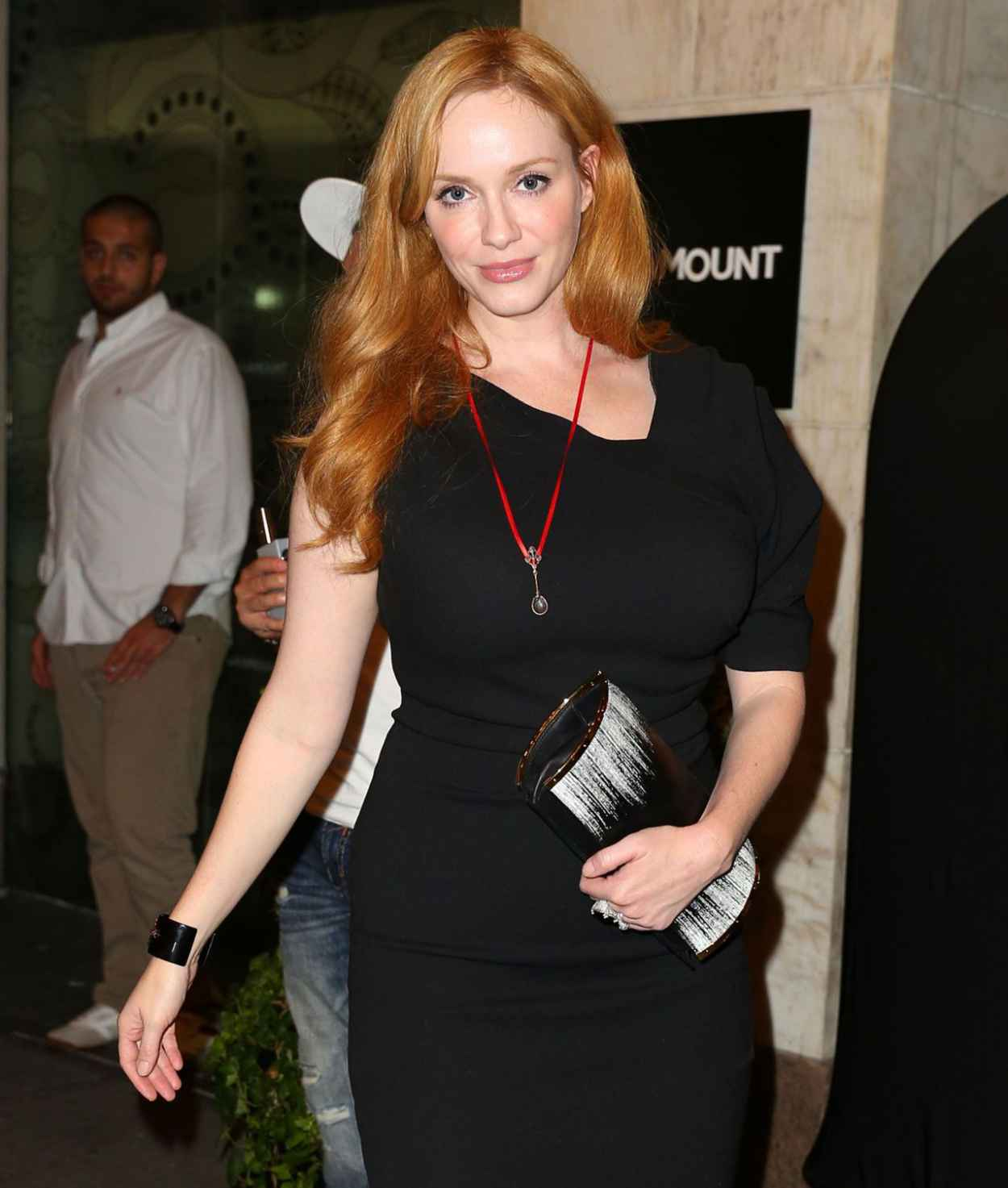 Christina Hendricks - Out to See Queen of the Night in New York, August 2015-3