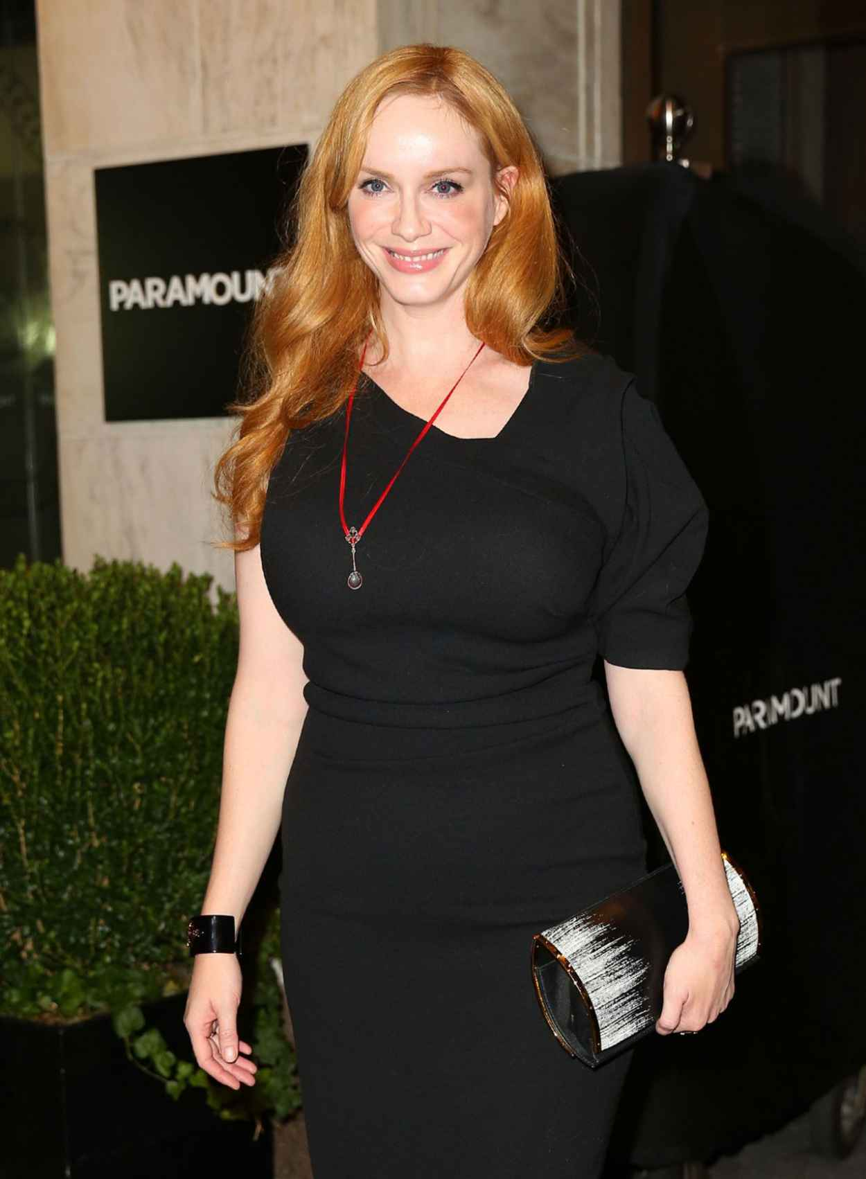 Christina Hendricks - Out to See Queen of the Night in New York, August 2015-5